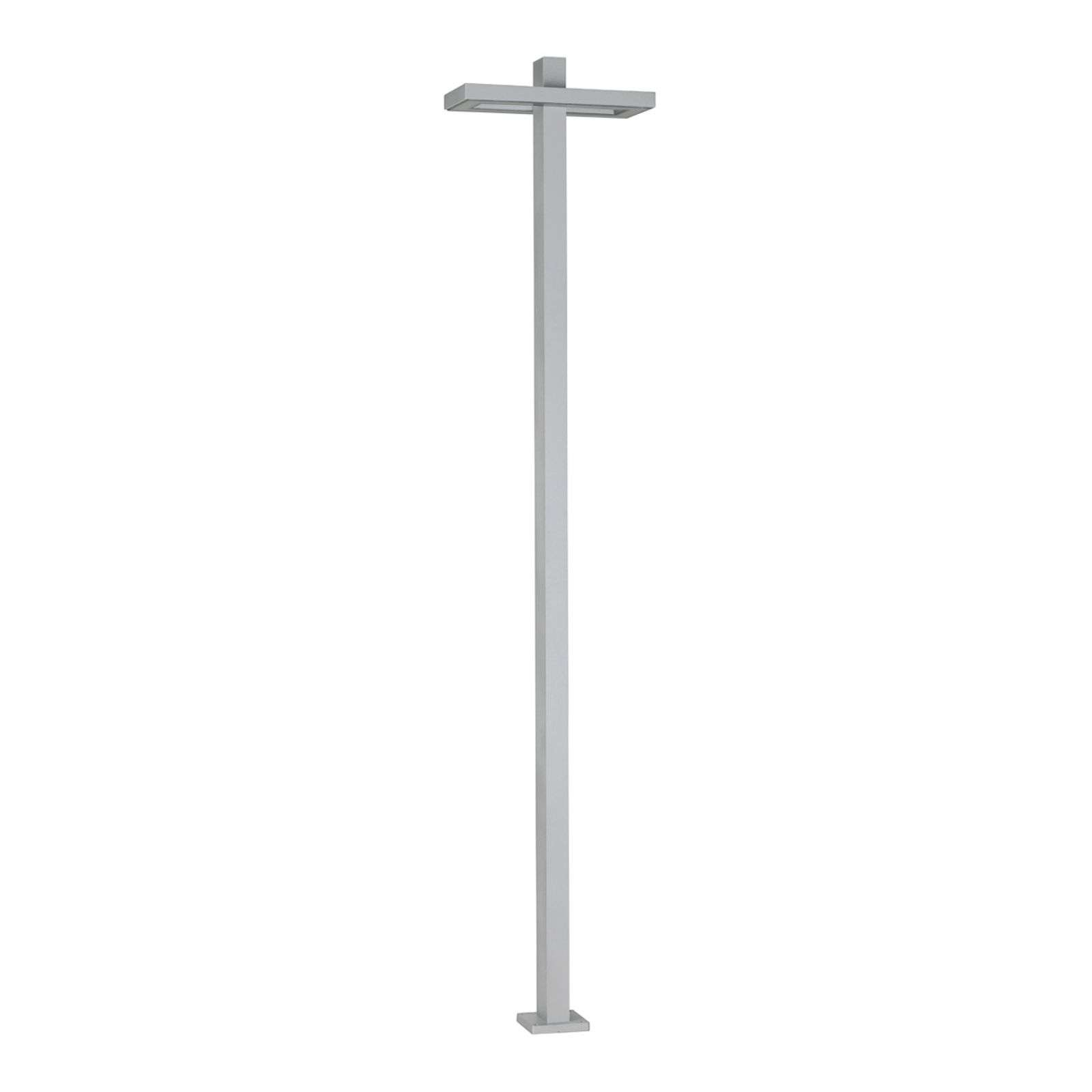 Grand lampadaire Rectangle blanc
