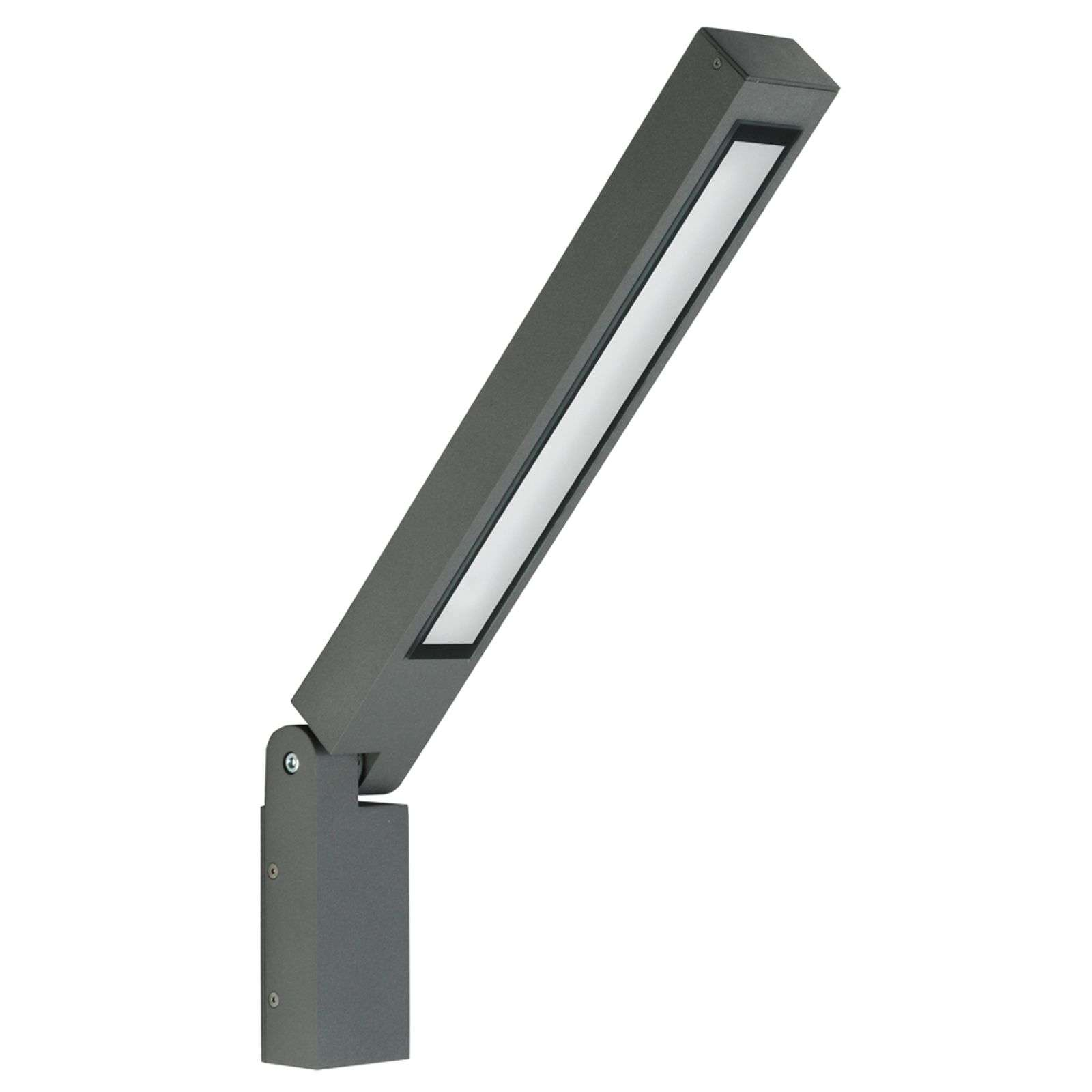 Applique Power-LED Tiogo inclinable, anthracite