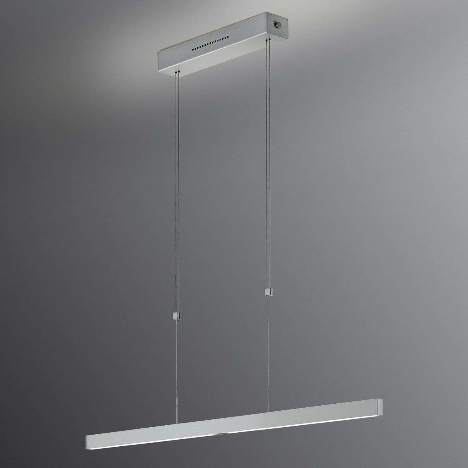 Suspension LED Pia, 68 cm, commande gestuelle