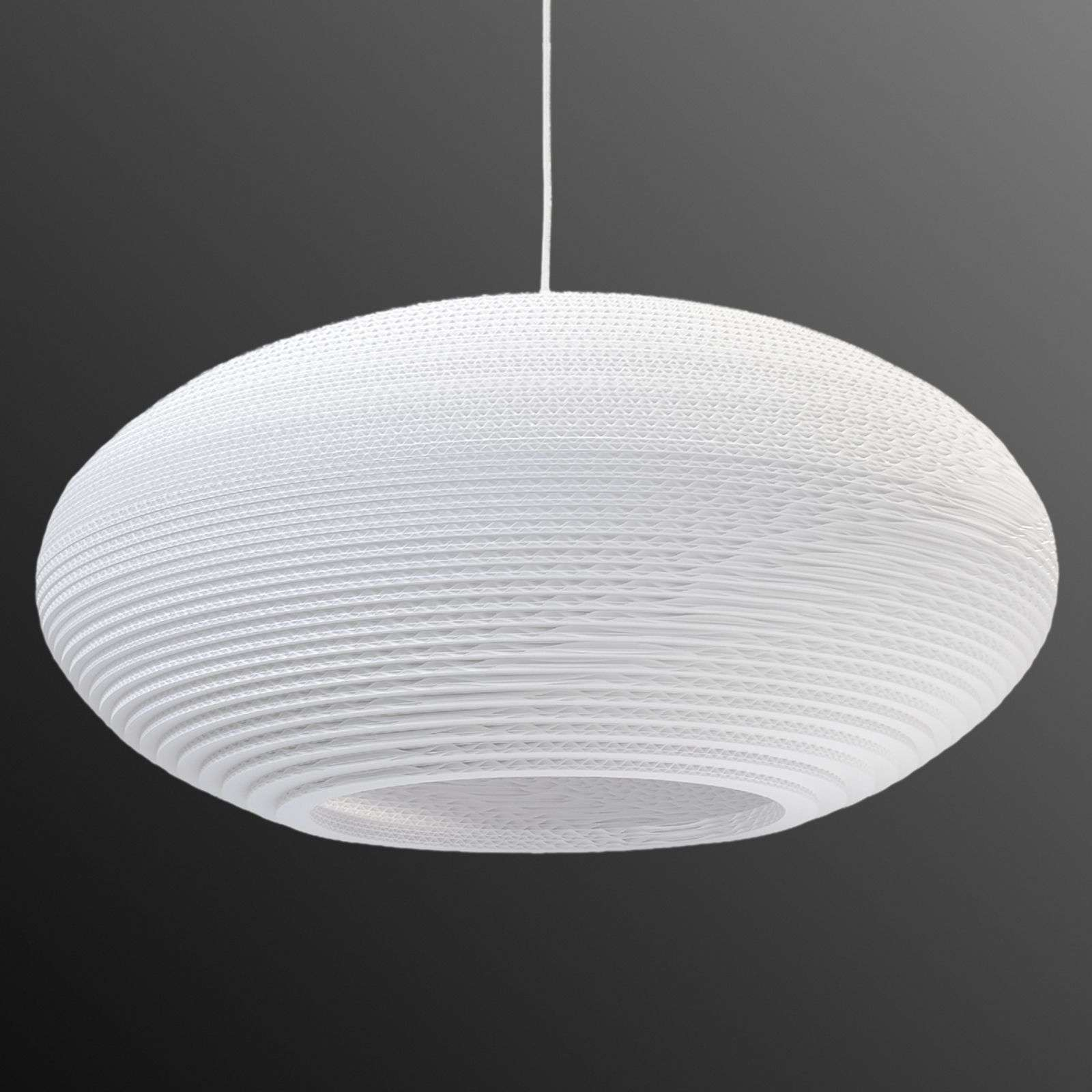 Suspension Disc blanc Ø 61 cm