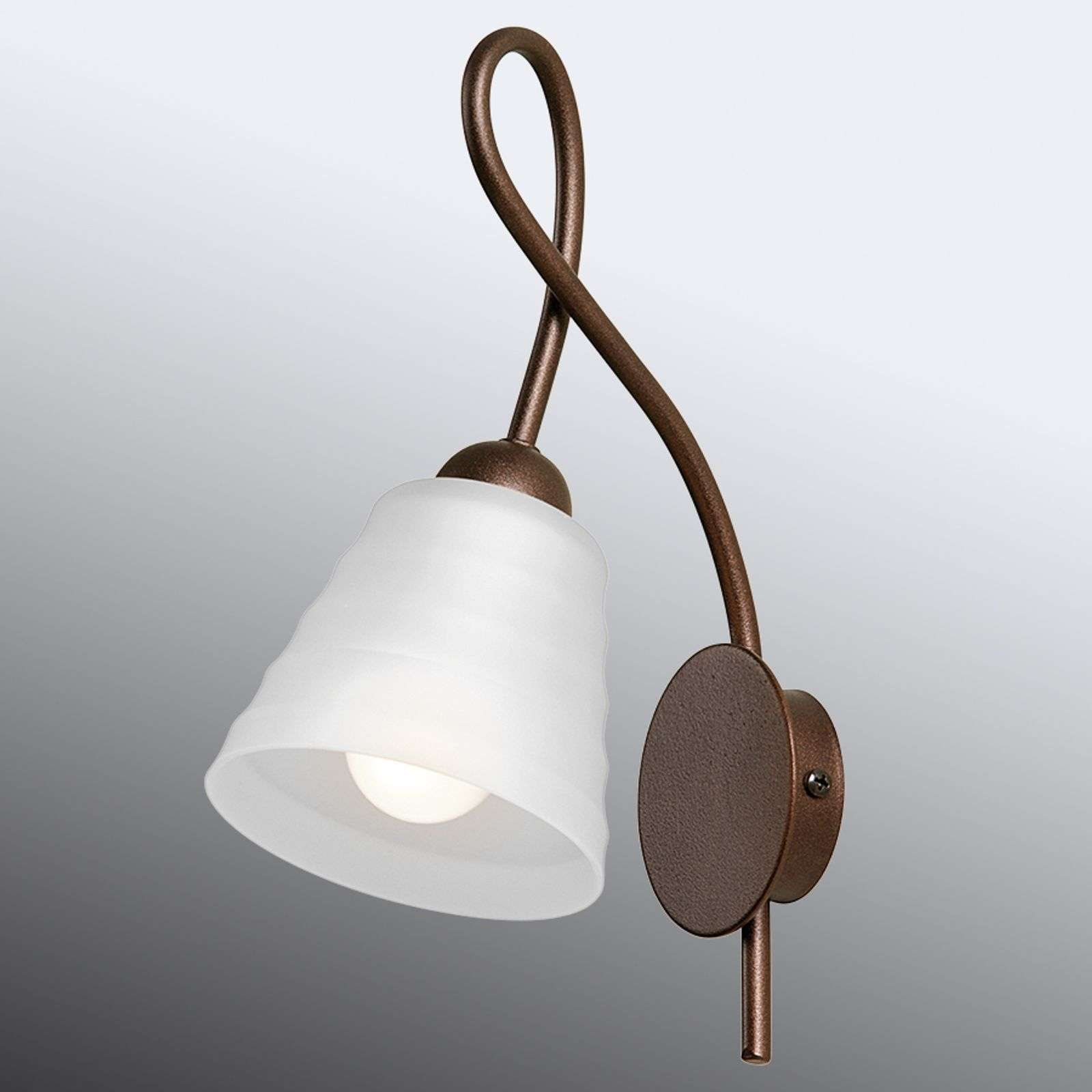 Belle applique HAMBURGER 1 lampe blanche