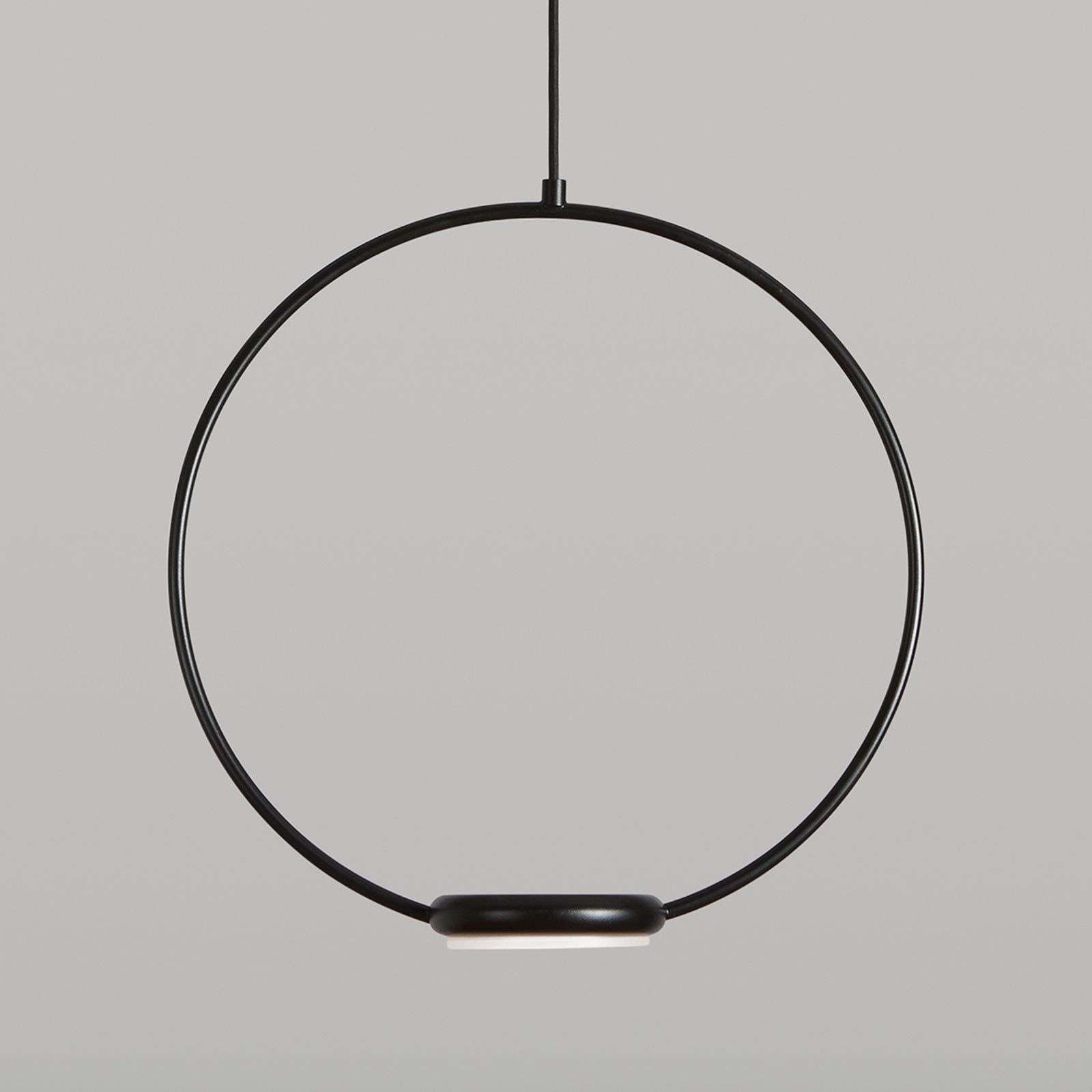 Suspension LED Odigiotto en noir