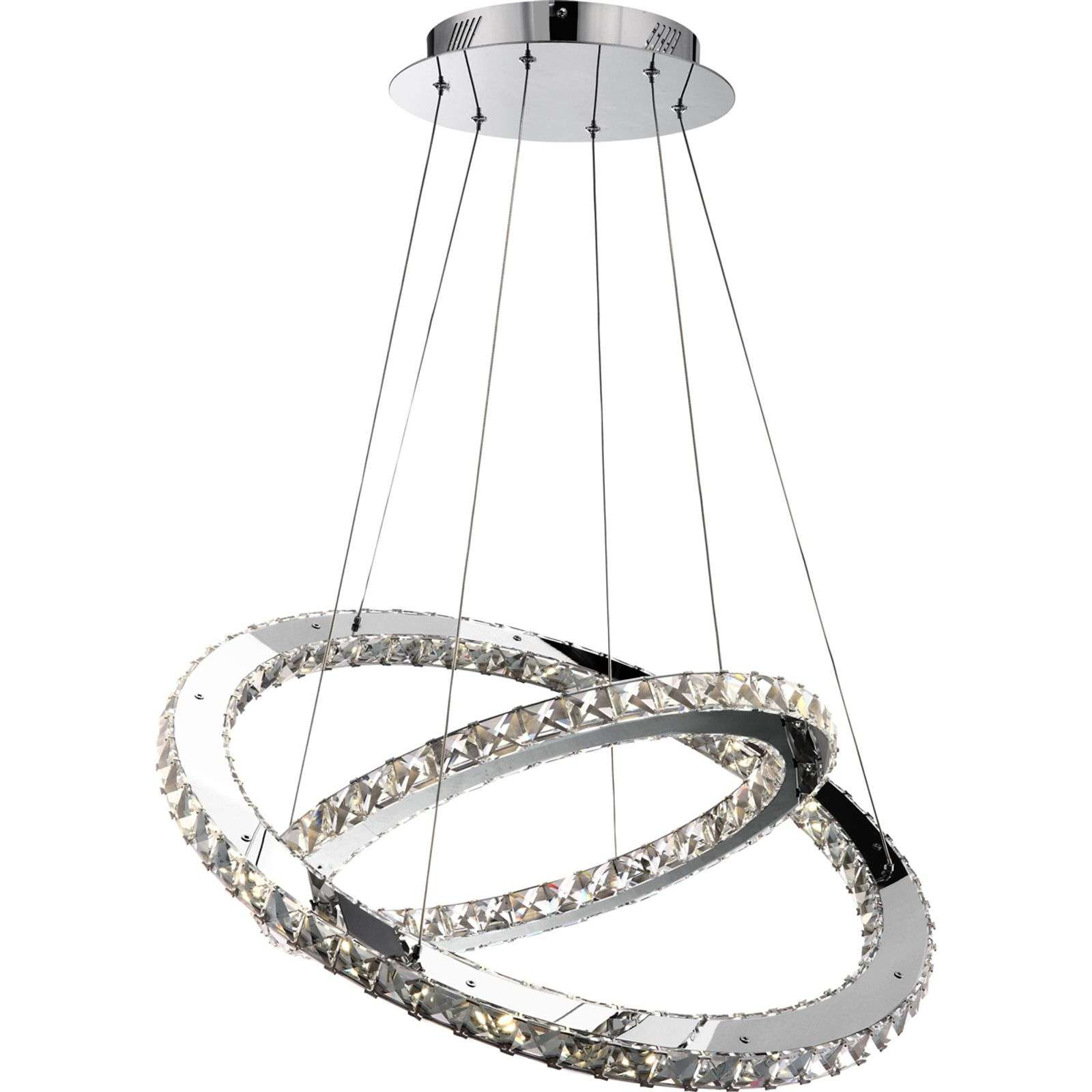 Suspension en cristal Marilyn avec LED