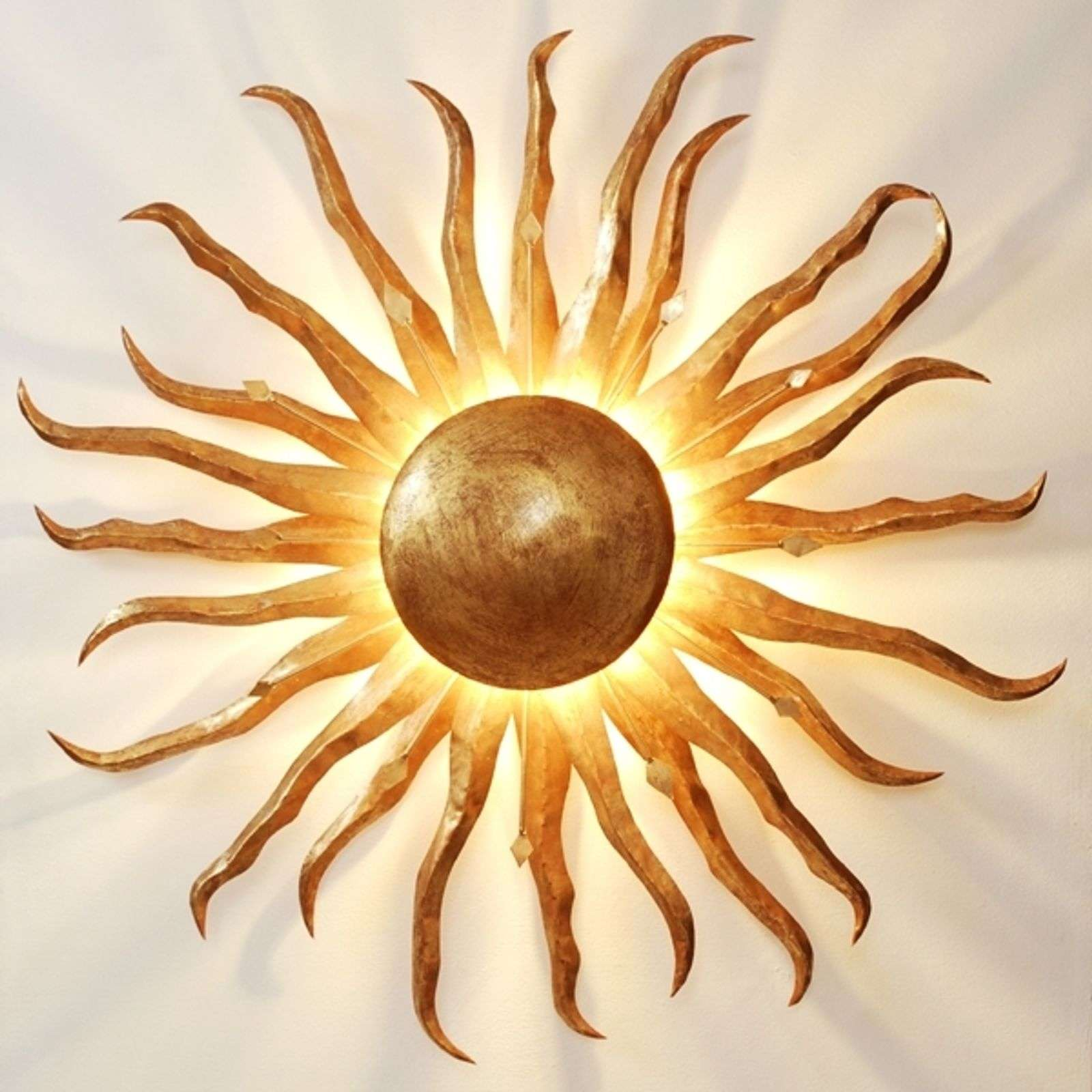 Fascinante applique SONNE GOLD GIGANTE