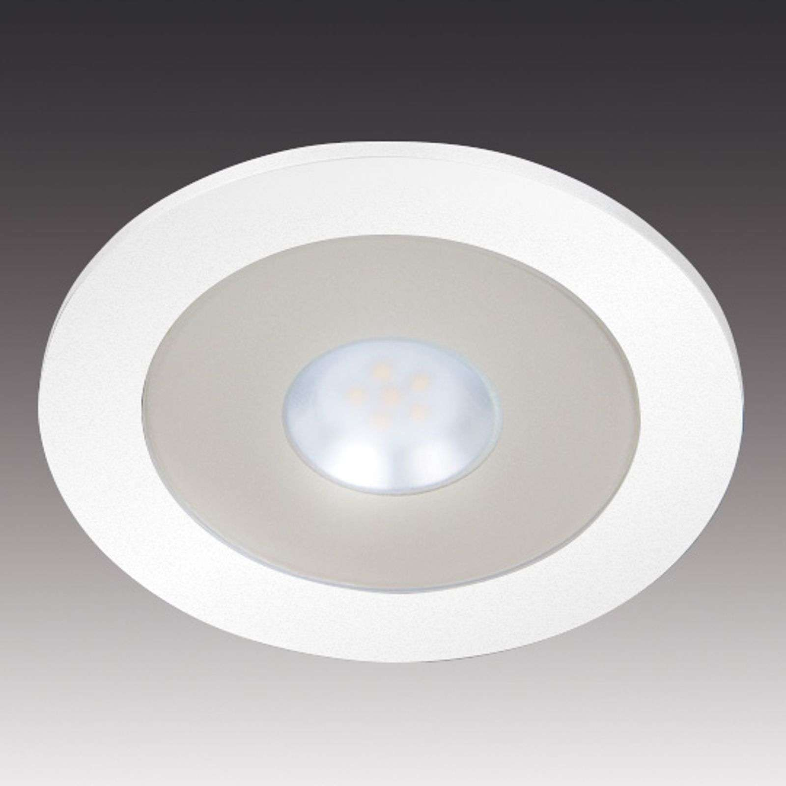 Spot intense encastrable LED AR 78 blanc