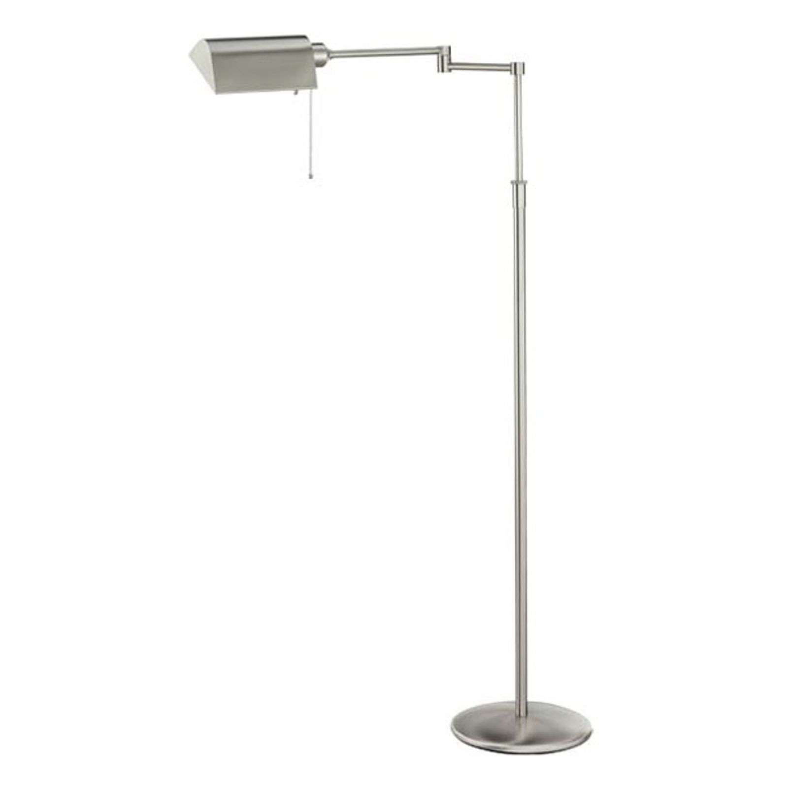 Lampadaire basse consommation DUNIA nickel