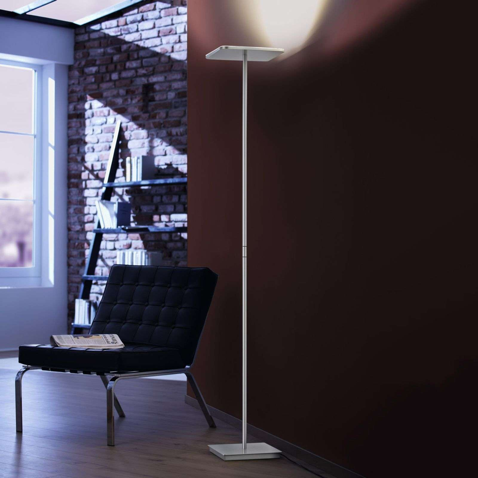 Lampadaire à éclairage indirect LED Plano V