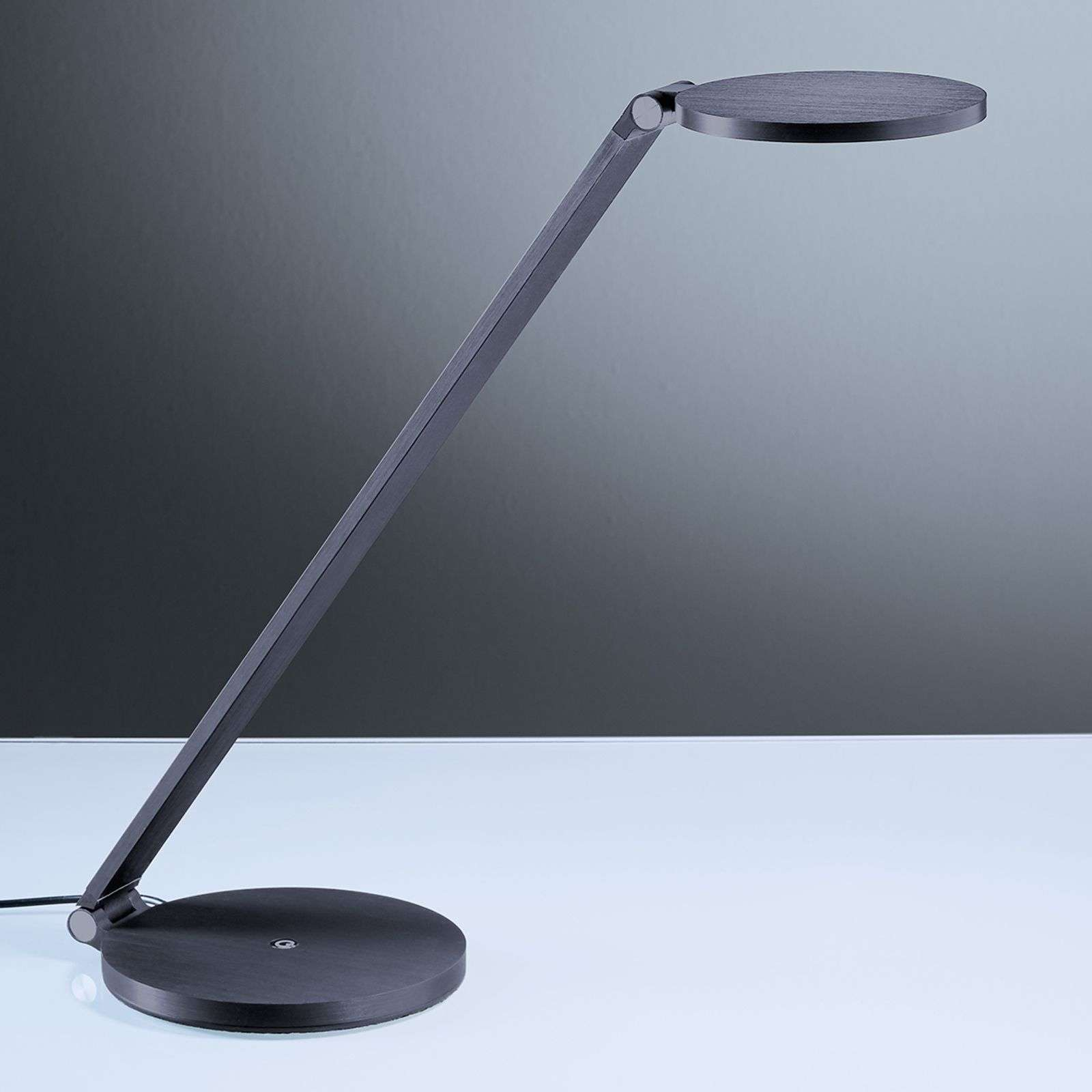 Lampe à poser LED Consul anthracite, dimmable