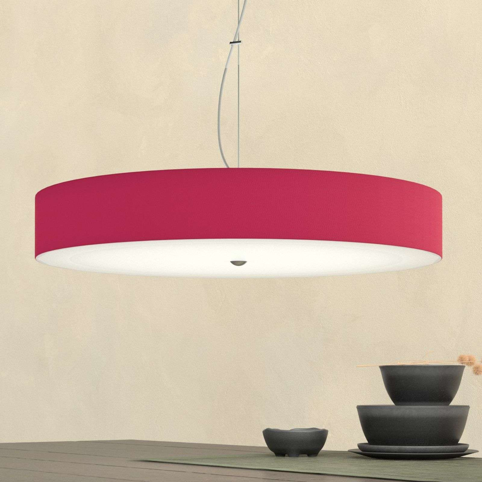 Suspension Alea rouge rubis