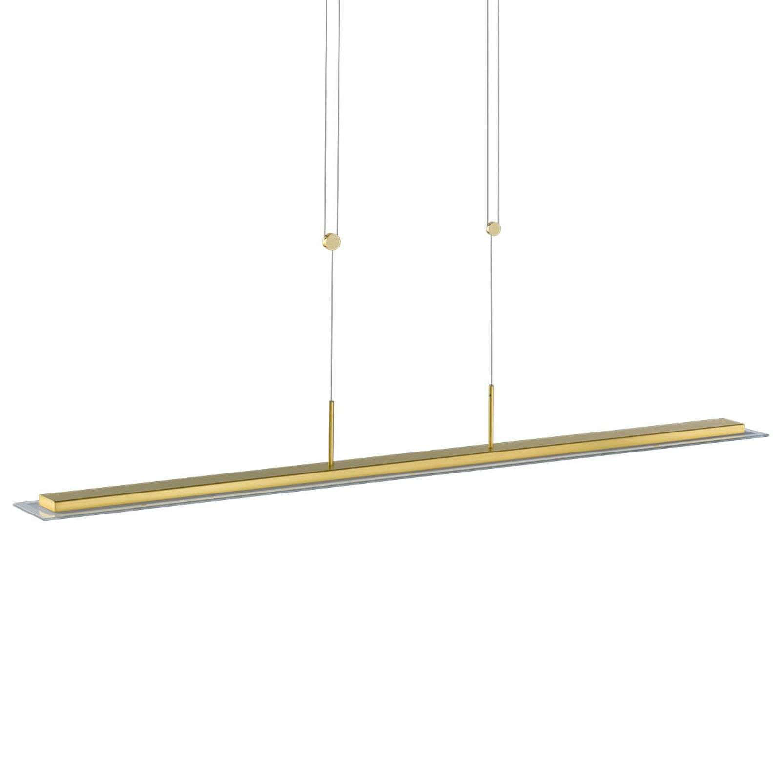 Liora - suspension LED dimmable, laiton