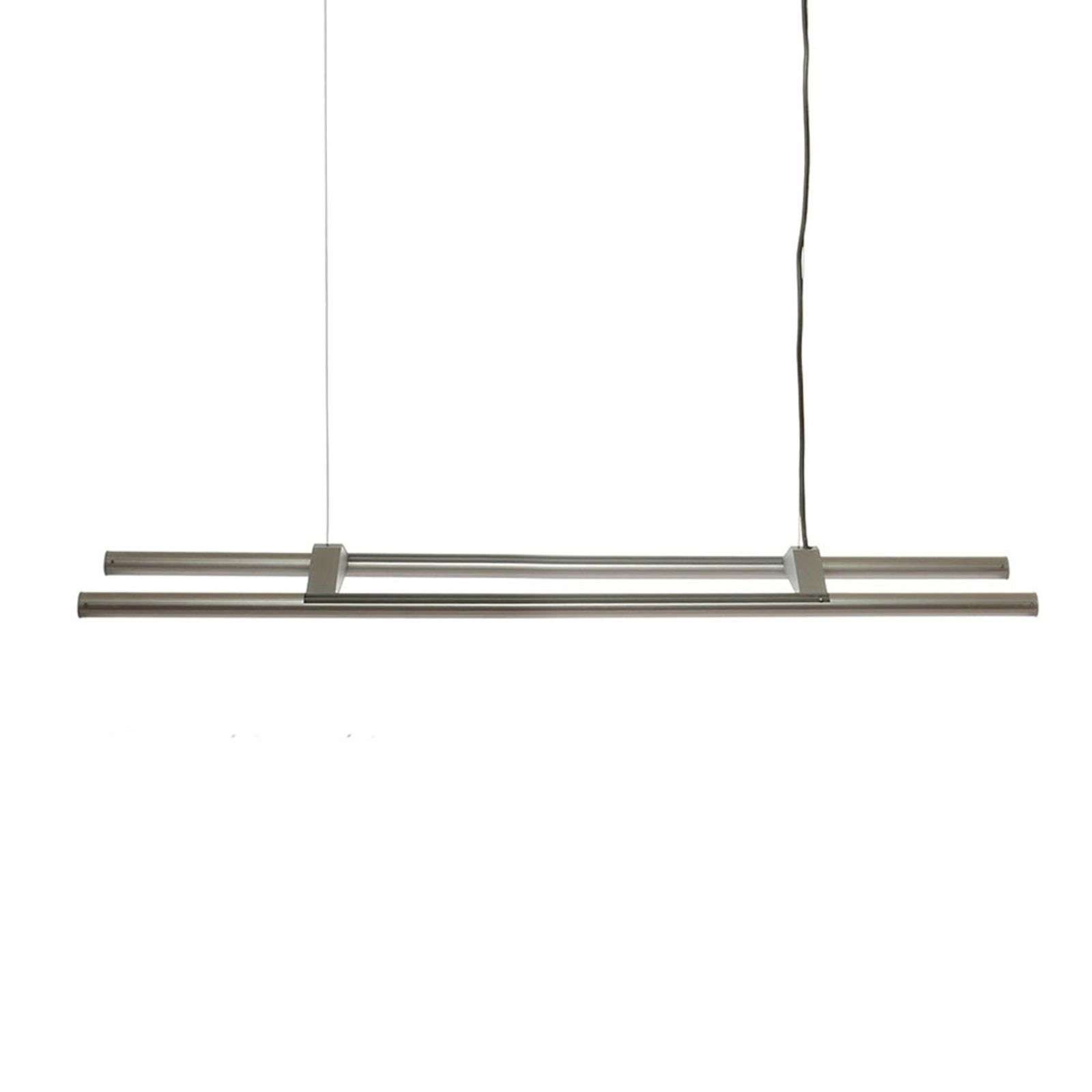 Suspension LED à deux tubes Aleda 120 cm