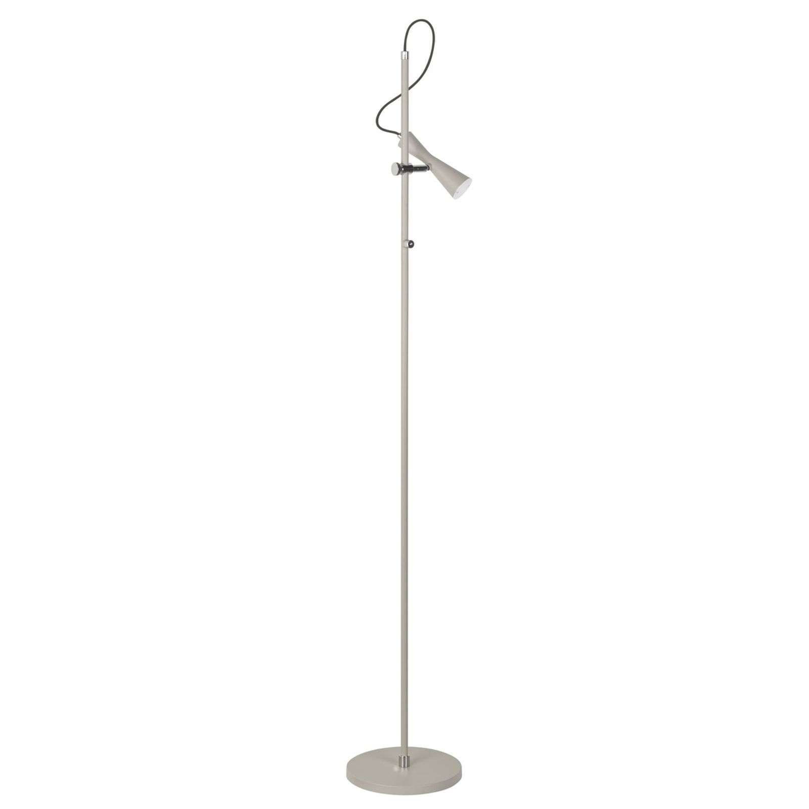 Move - lampadaire LED beige avec talent