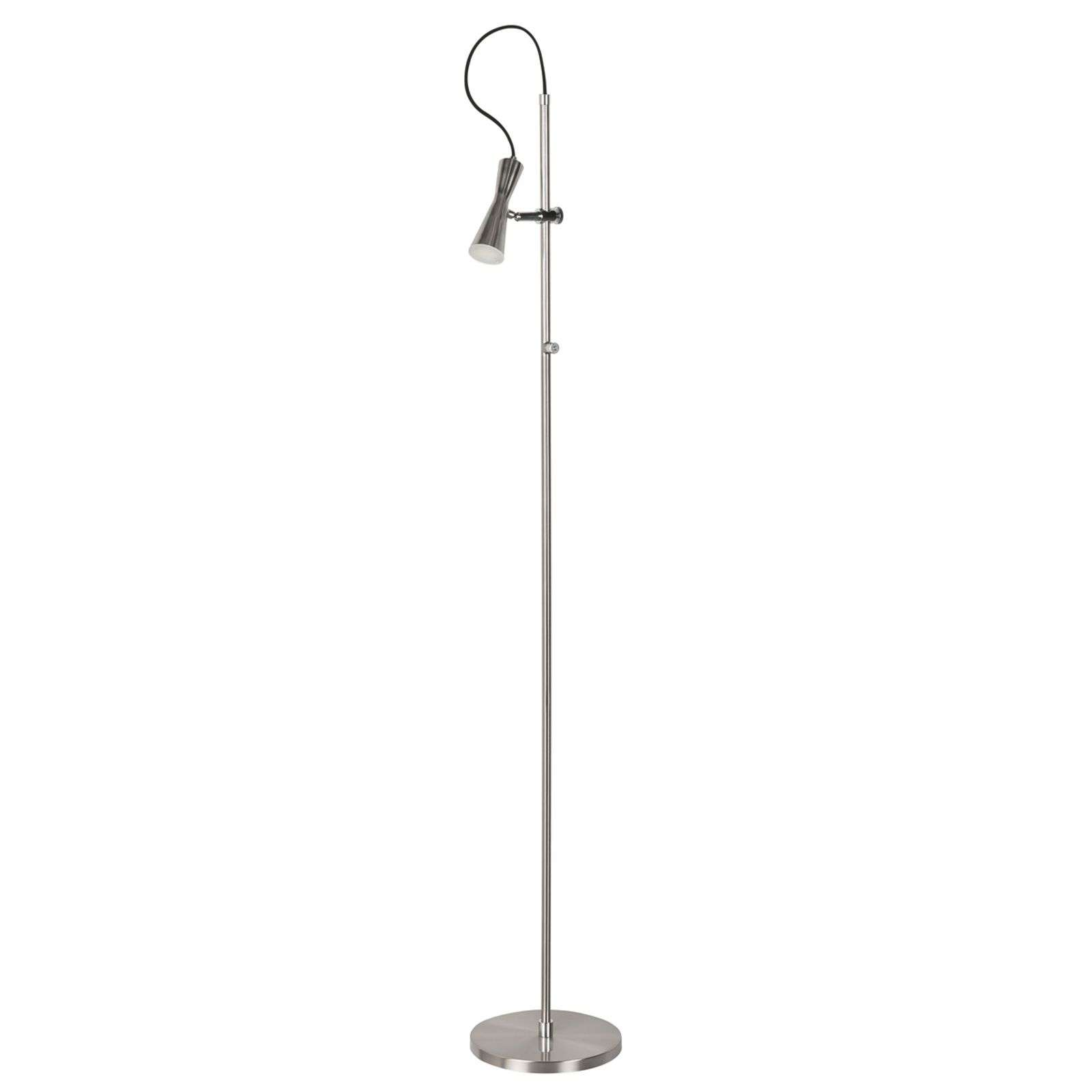 Move - lampadaire LED avec talent, nickel