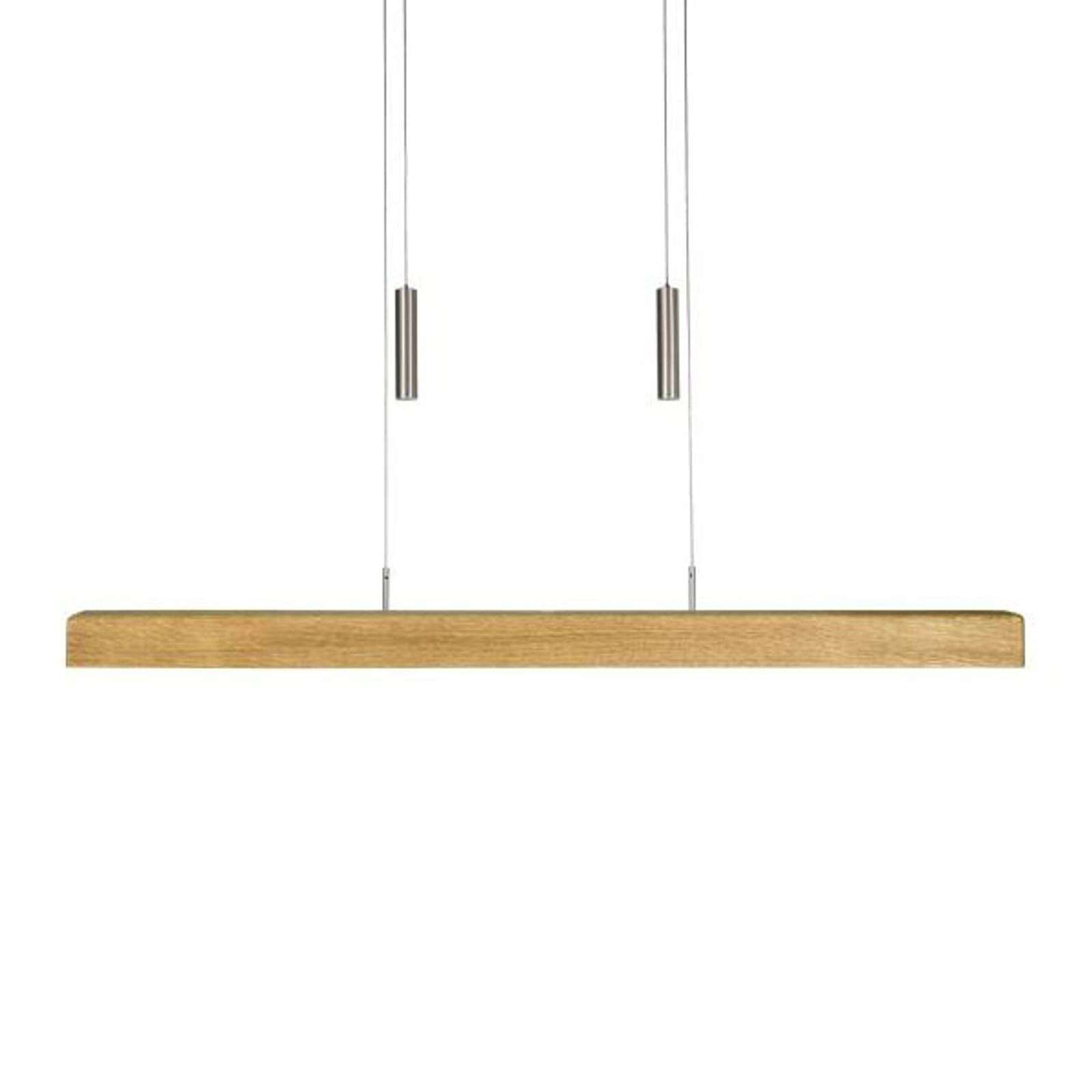 HerzBlut Leonora suspension LED chêne 85 cm