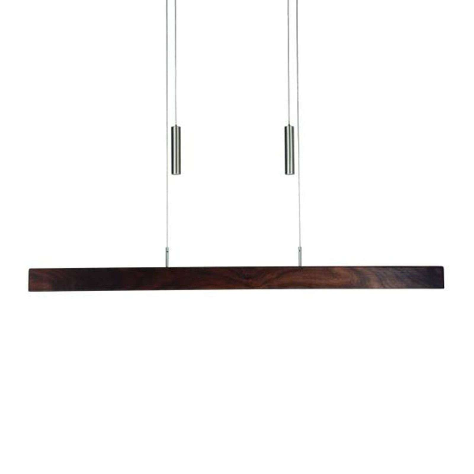 HerzBlut Leonora suspension LED noyer 85 cm