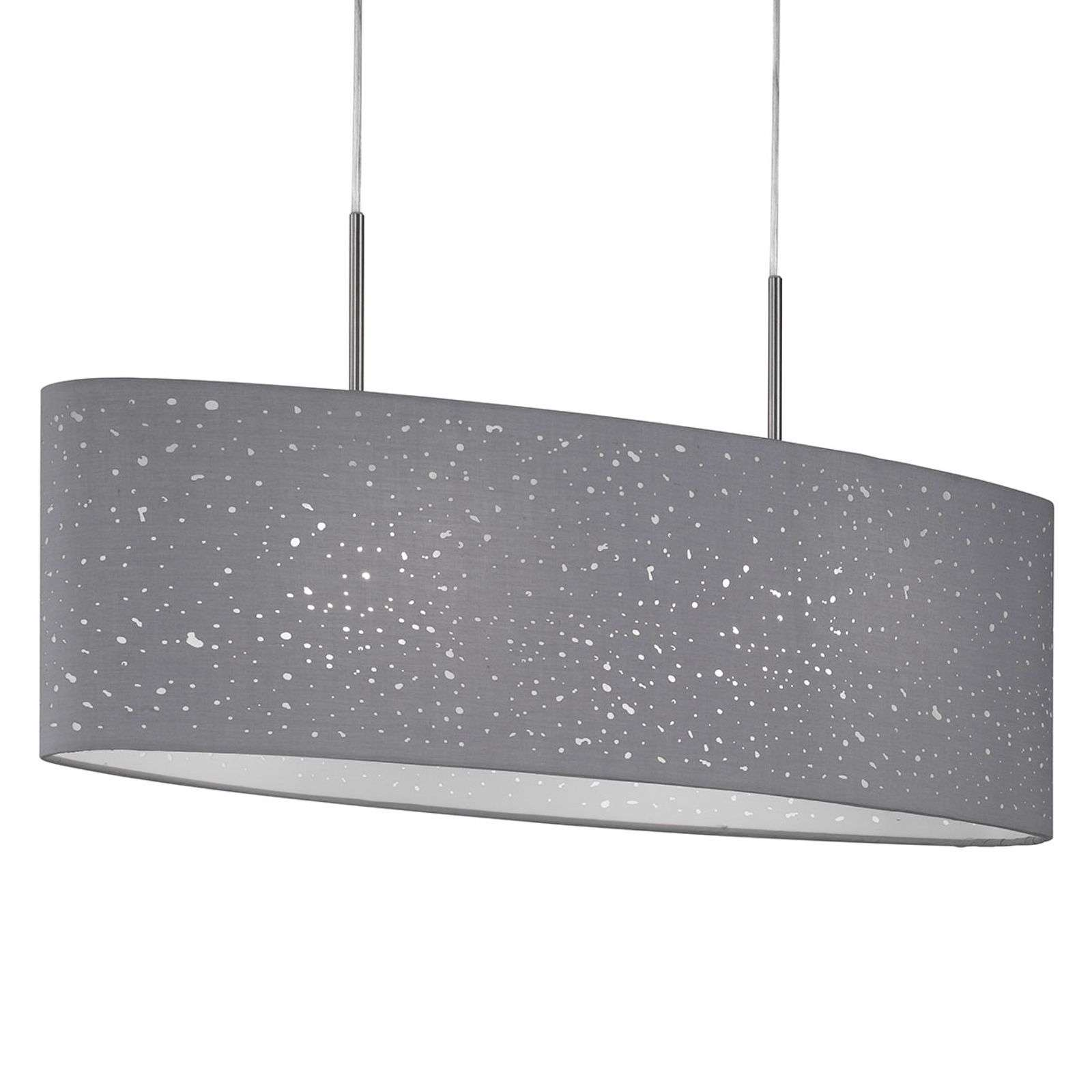 Suspension Thor en gris