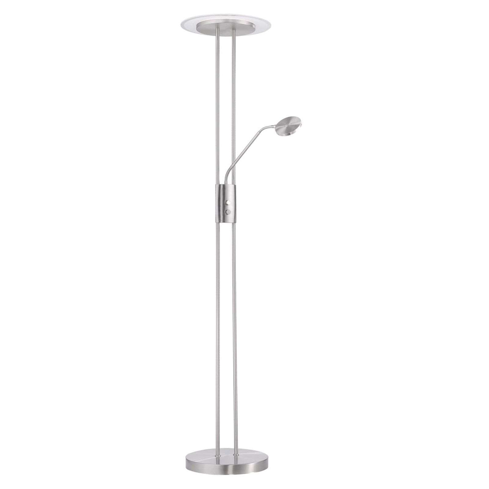 Lampadaire à éclairage indirect LED Fluente