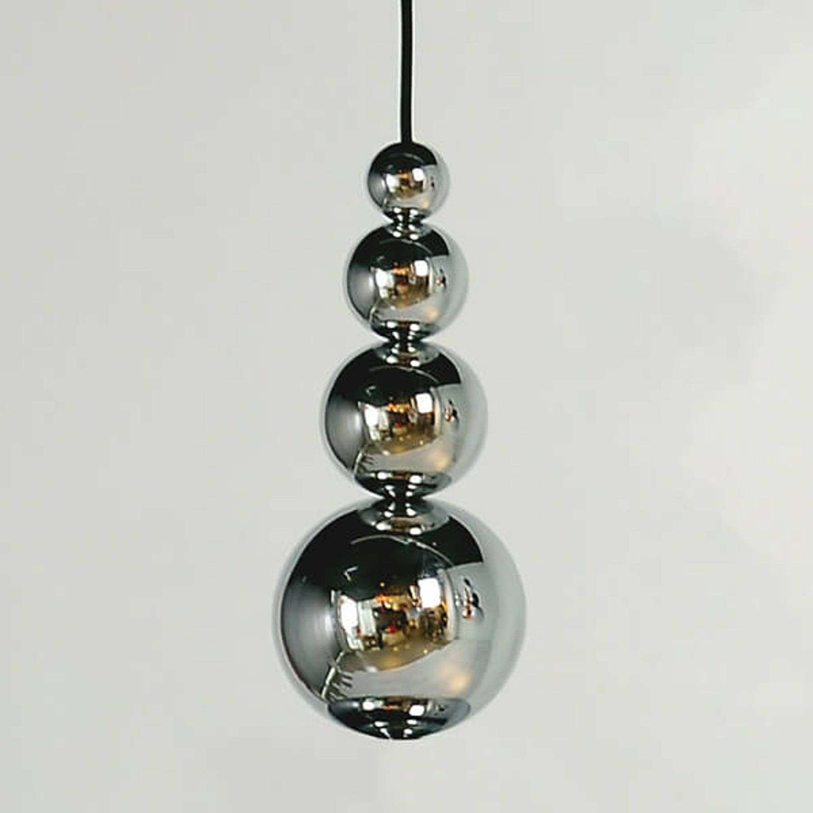 Innermost Bubble - suspension en chromé