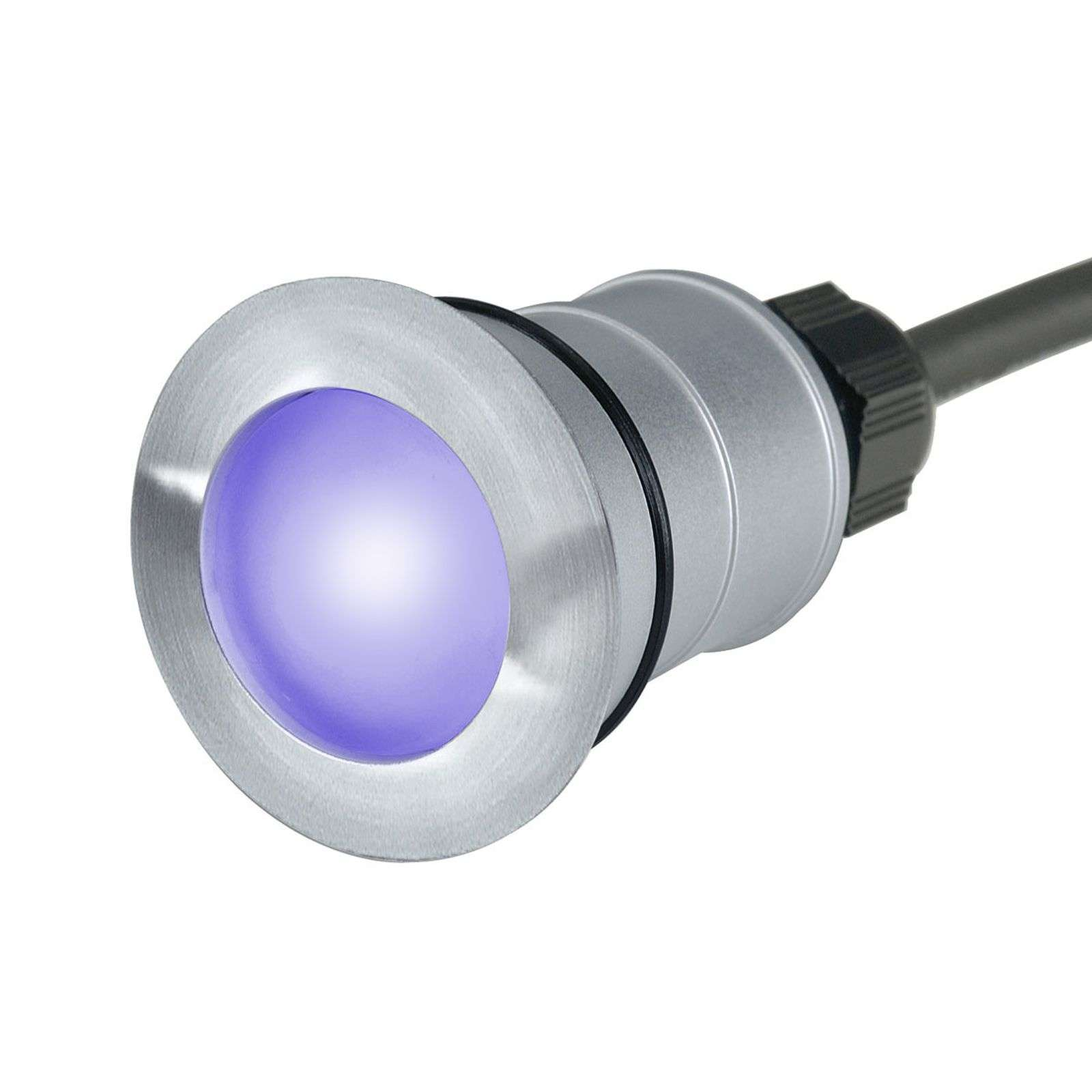 Spot encastrable au sol LED TRAIL-LITE ROUND bleu