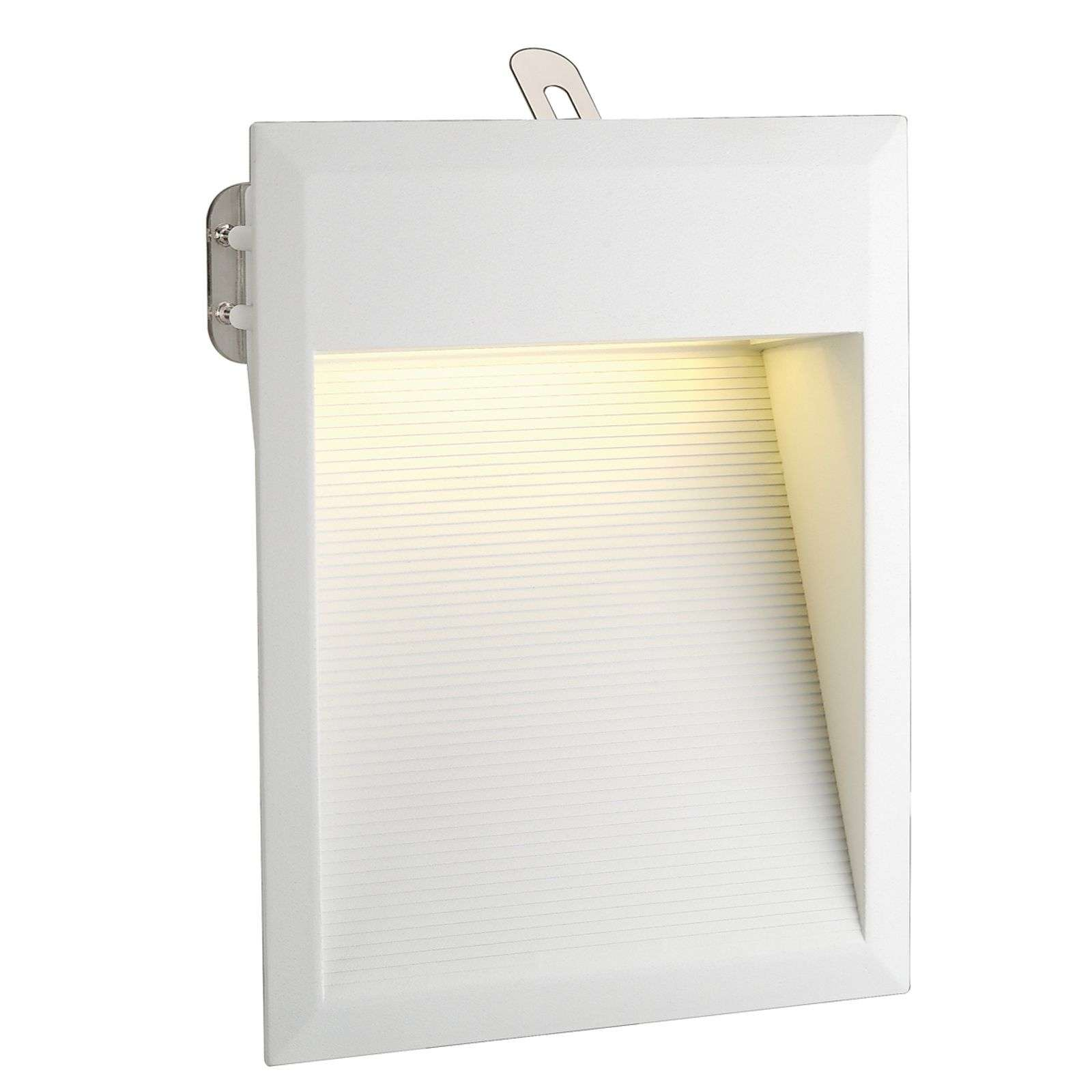 Applique blanche Downunder LED 27, blanc chaud