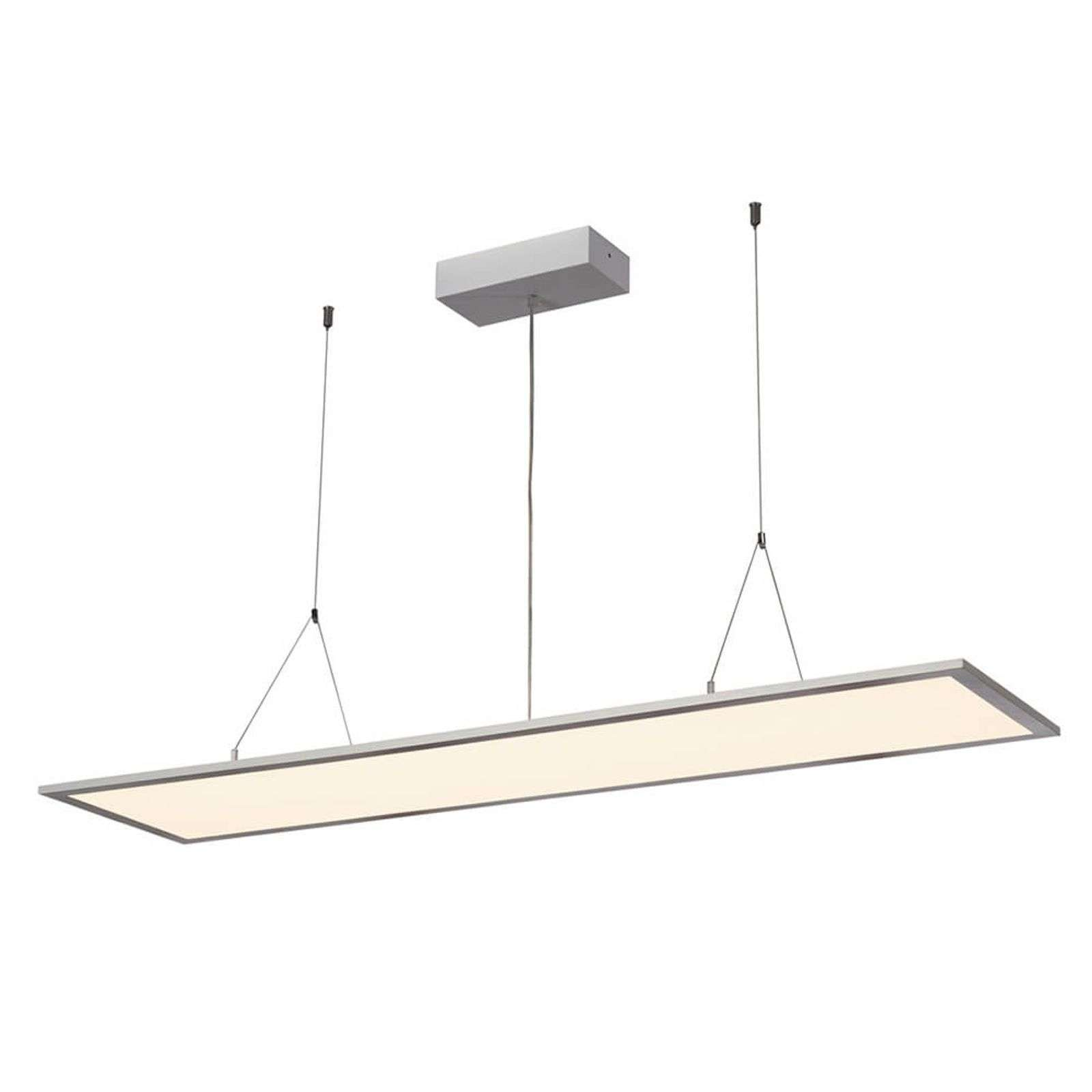 SLV I-Pendant Pro suspension LED argentée 3 000 K