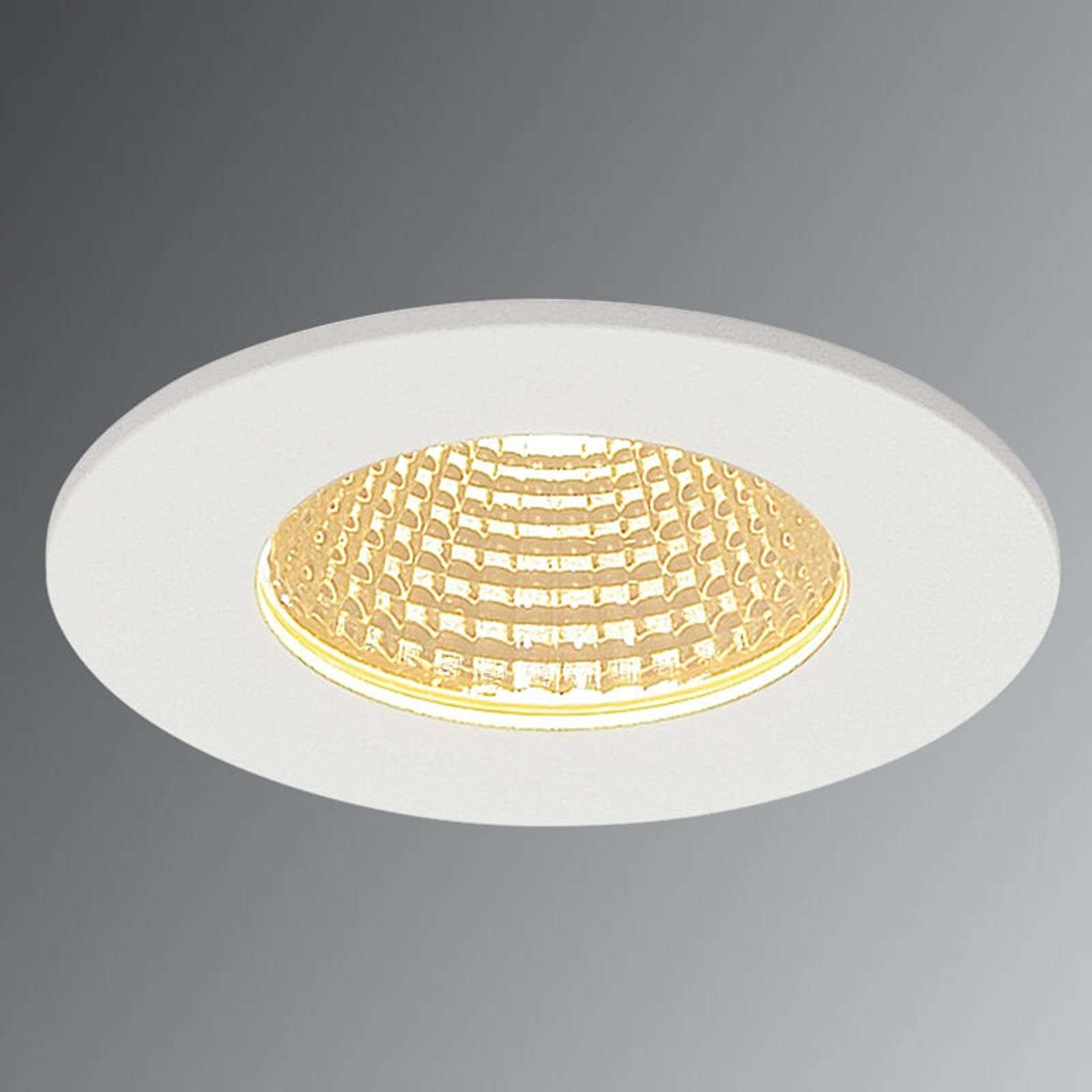 Spot LED encastrable Patta-I blanc