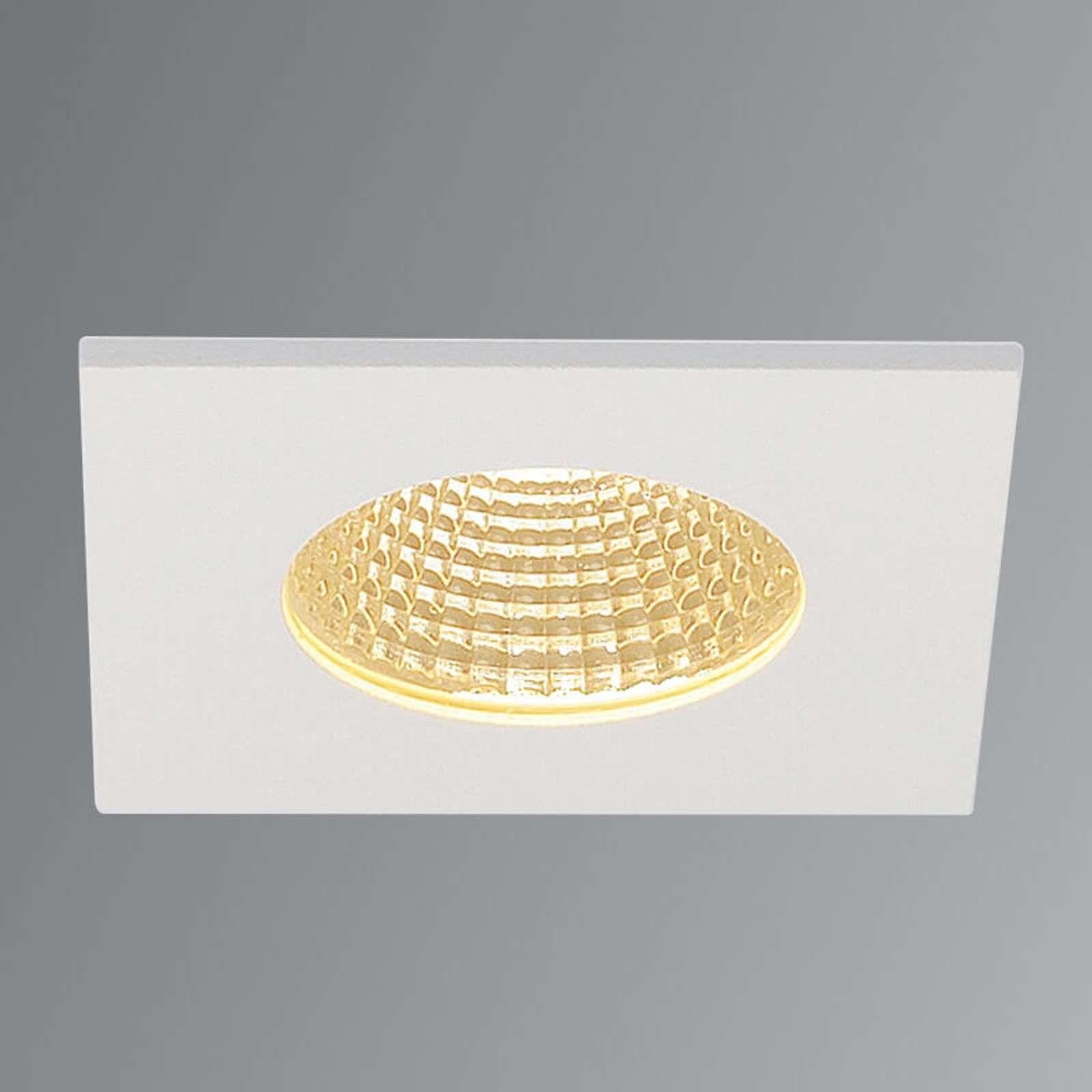 Spot LED encastrable Patta-I blanc mat