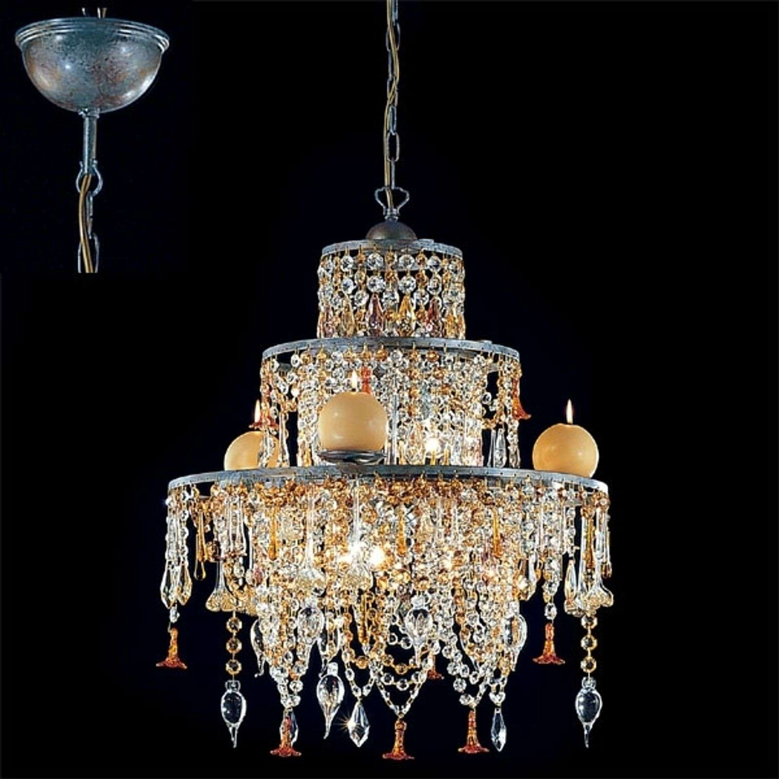 Suspension chandelier GOLDEN DREAM