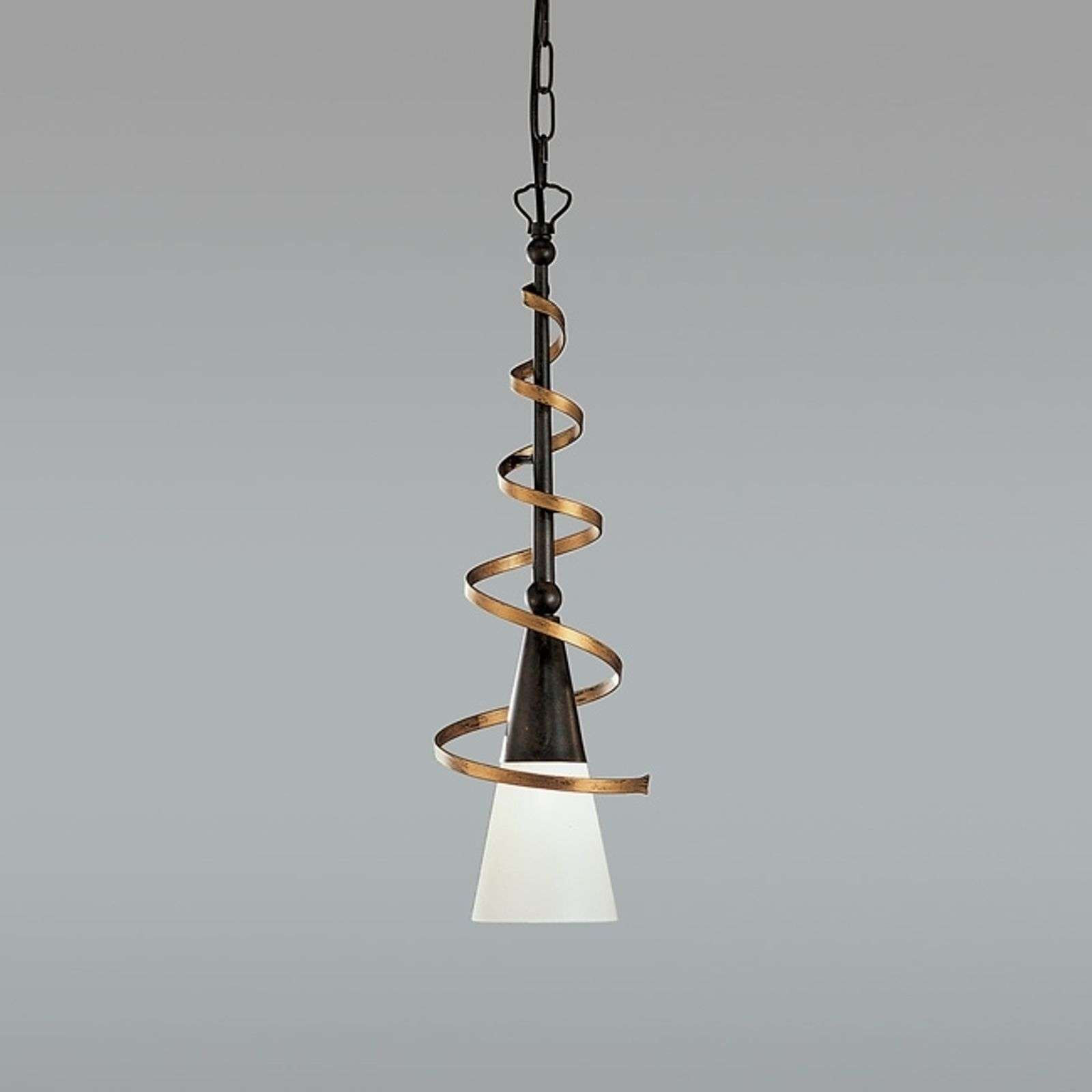 Suspension BONITO rouille antique 50 cm