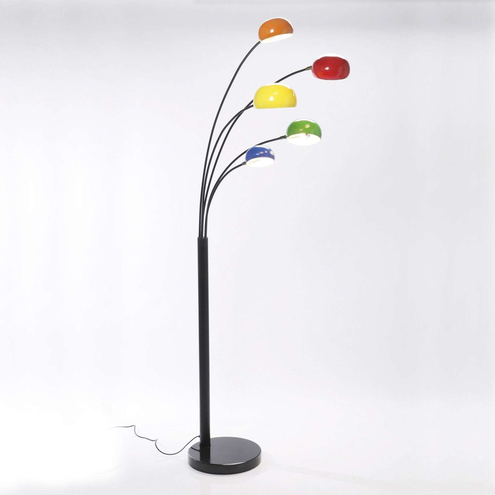 Lampadaire multicolore FIVE FINGERS