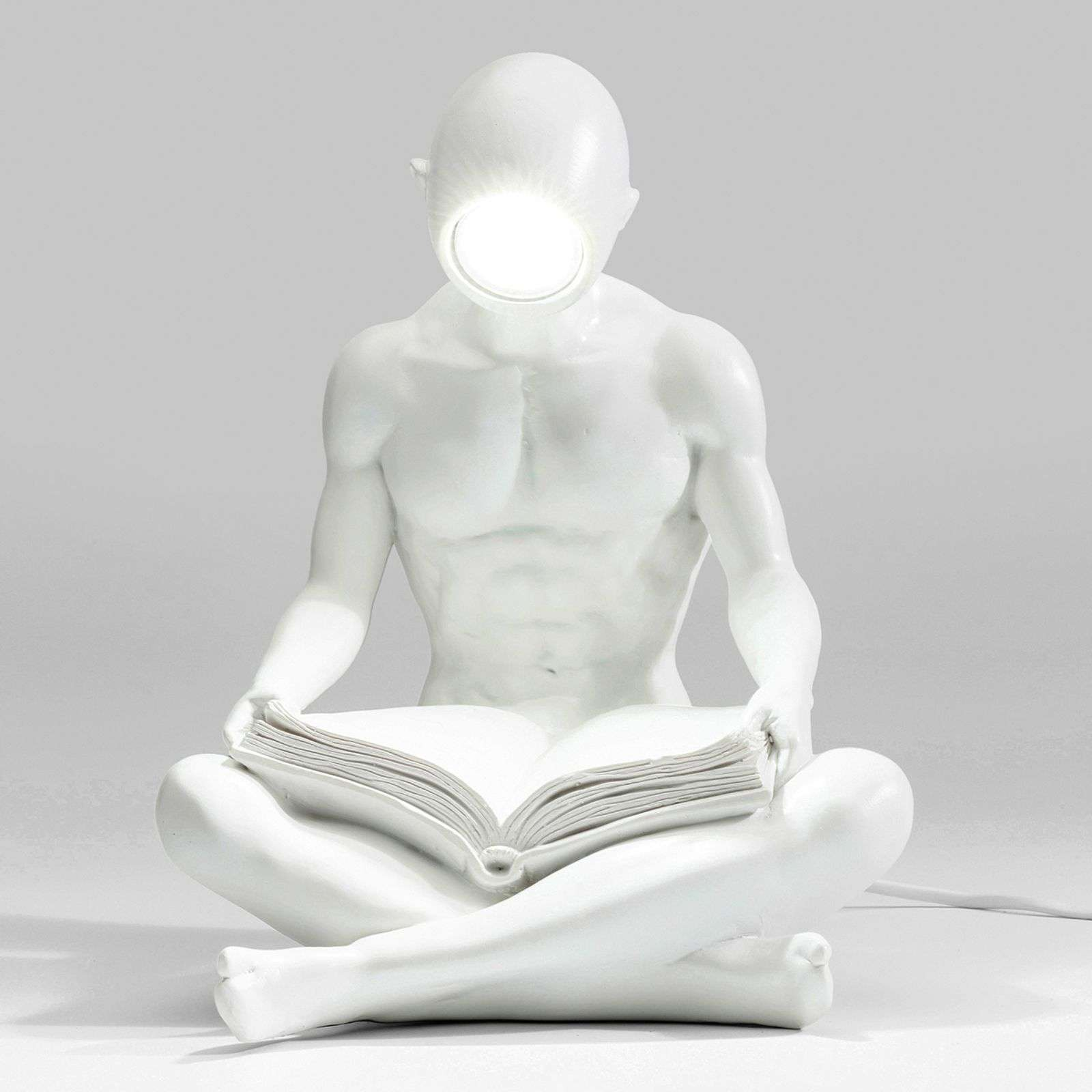 Lampe de table LED originale Reading White Man