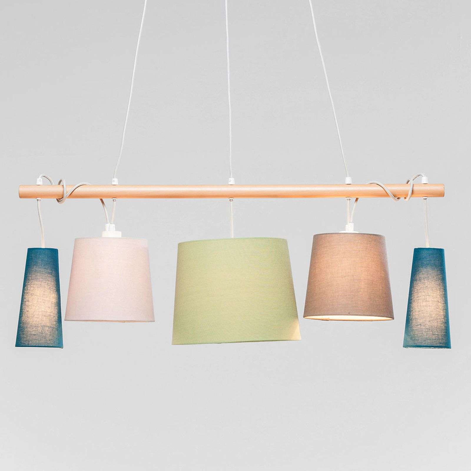 KARE Parecchi Nordic suspension de couleur pastel