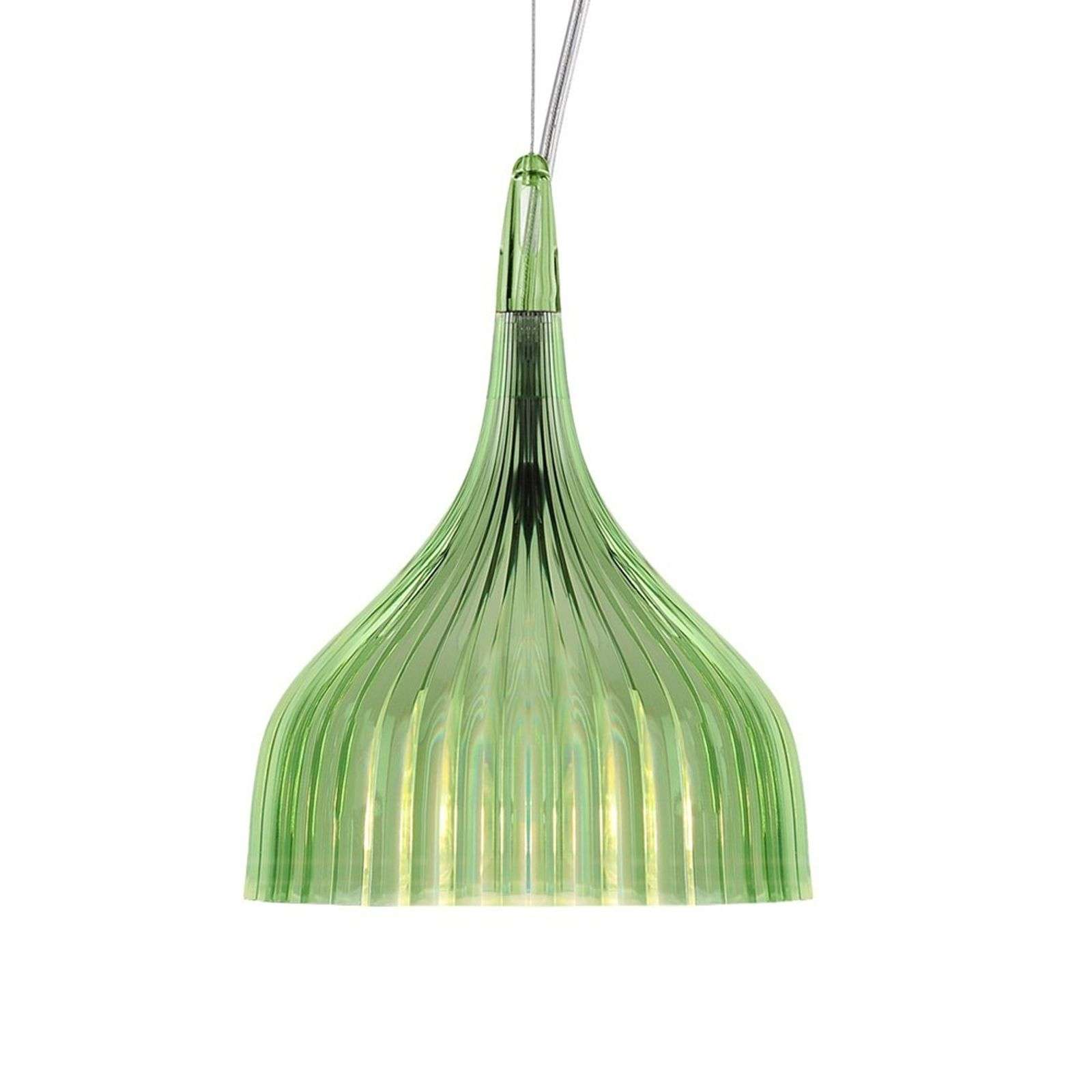 Kartell É suspension LED, vert