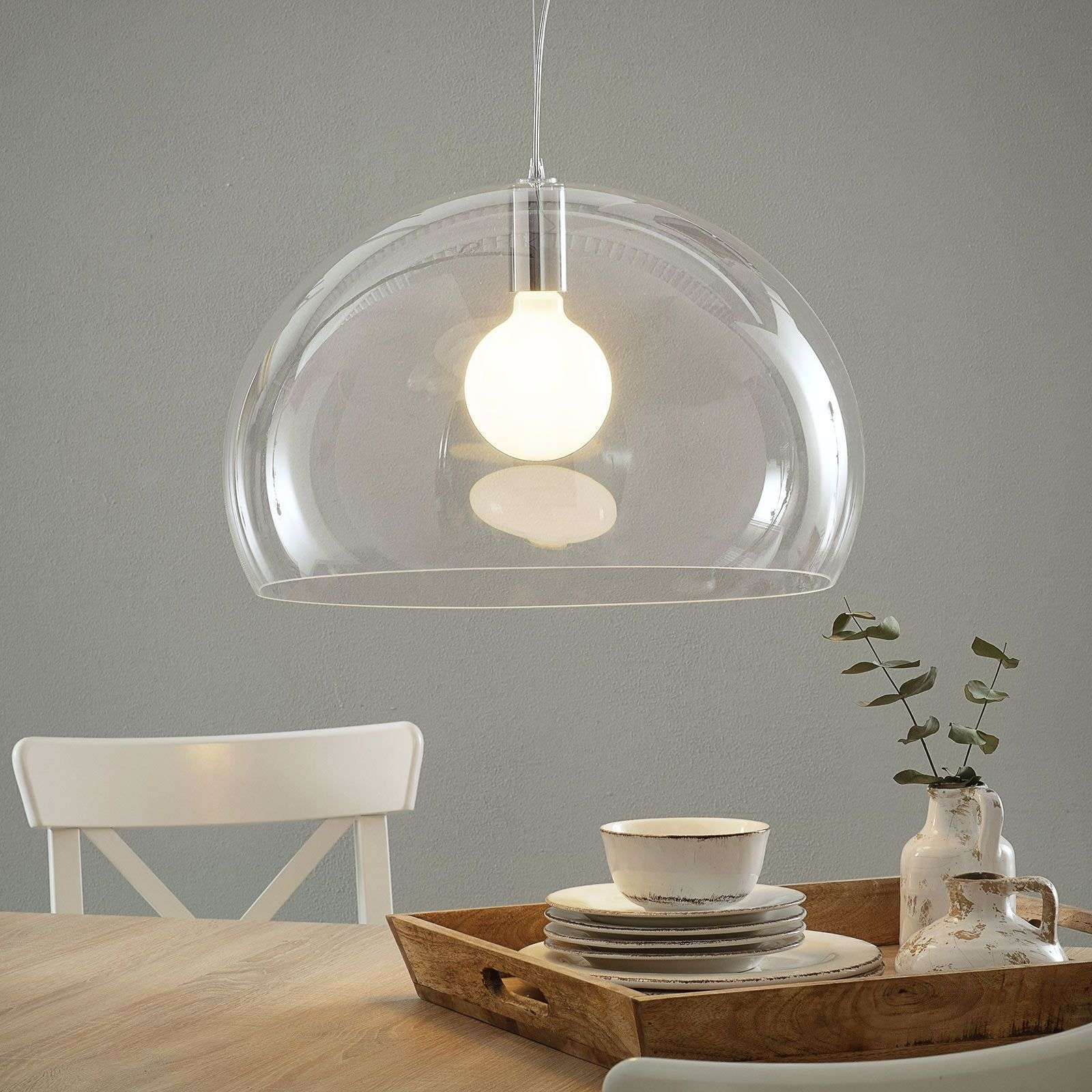 Kartell FL/Y suspension LED, transparent