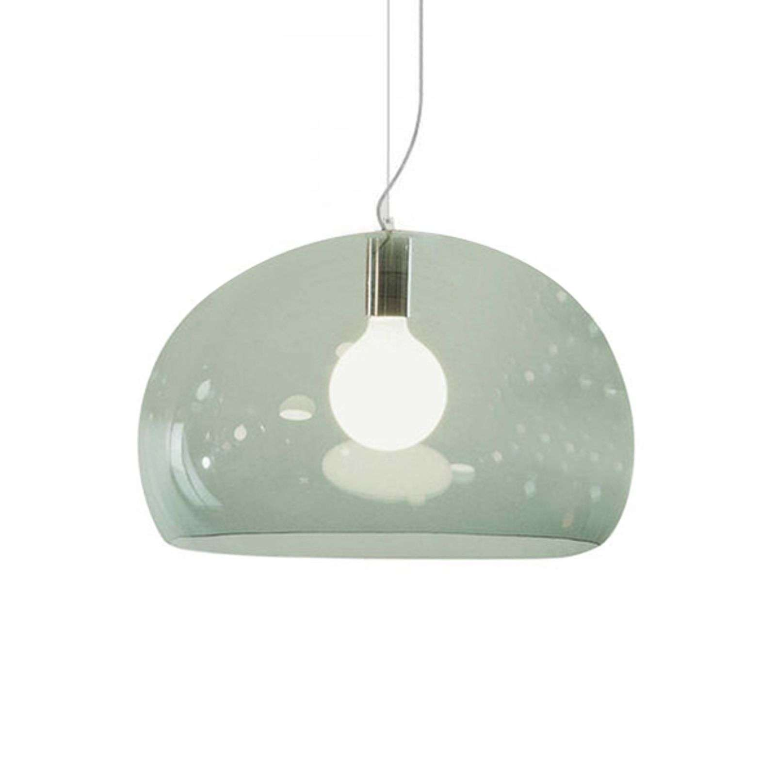 Kartell FL/Y suspension LED, vert sauge