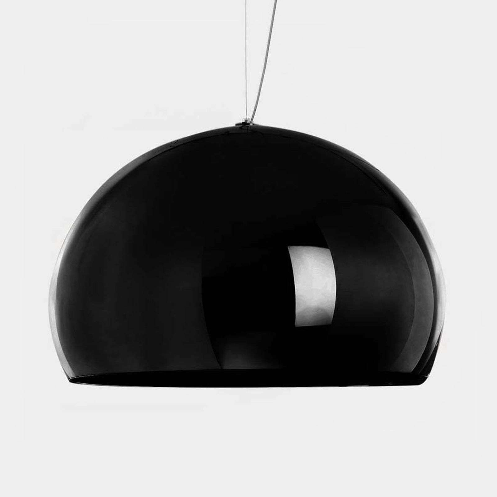 Kartell FL/Y suspension LED, noir brillant