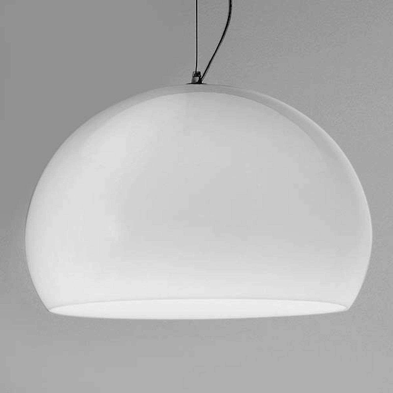 Kartell Big FL/Y suspension LED, blanc