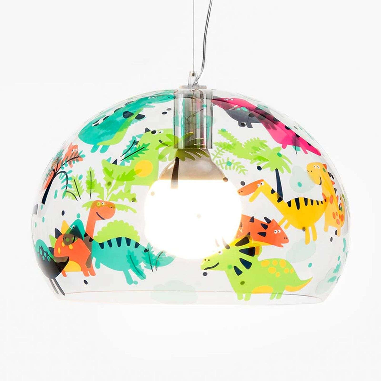 Kartell FL/Y Kids suspension LED Dinos