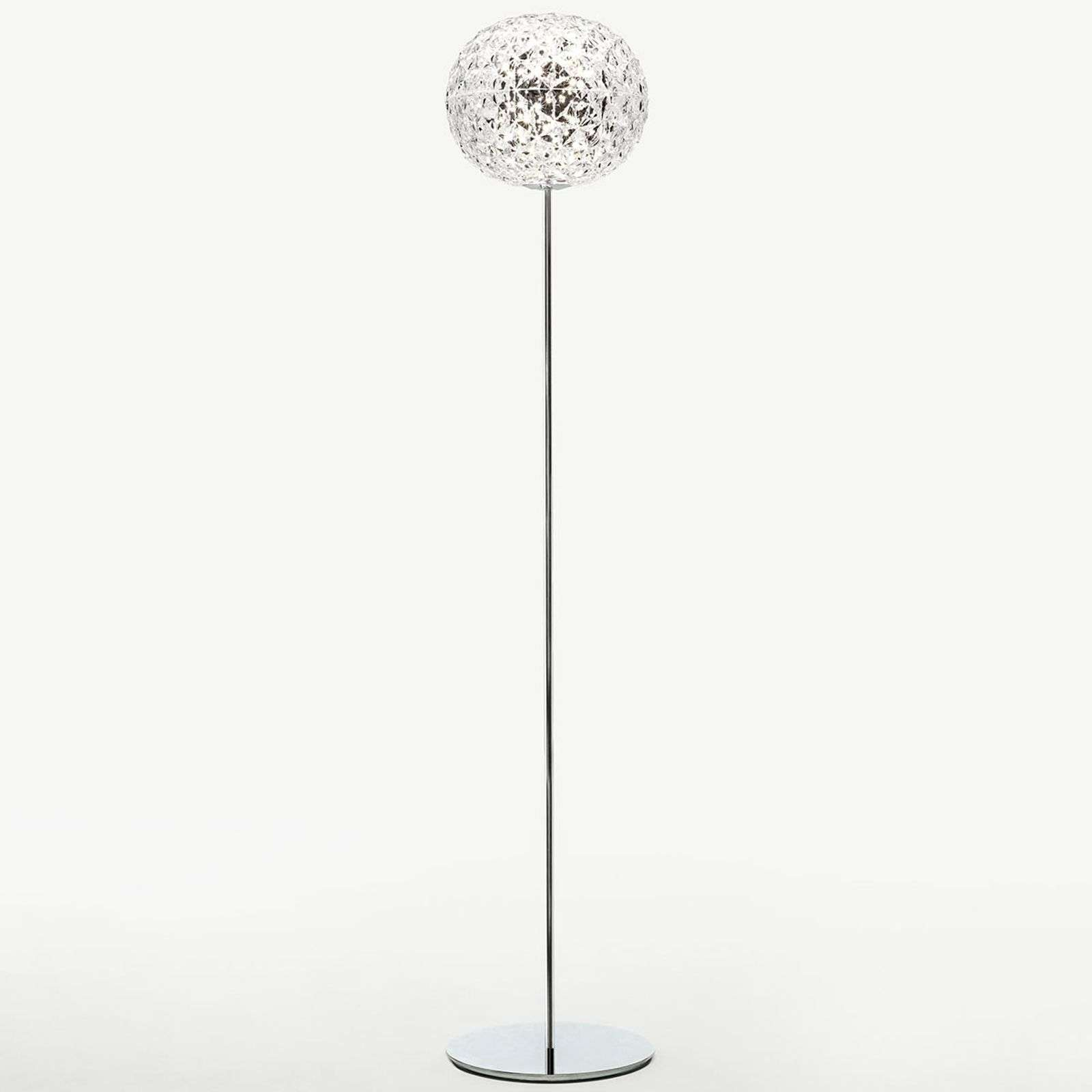 Kartell Planet lampadaire LED, cristallin