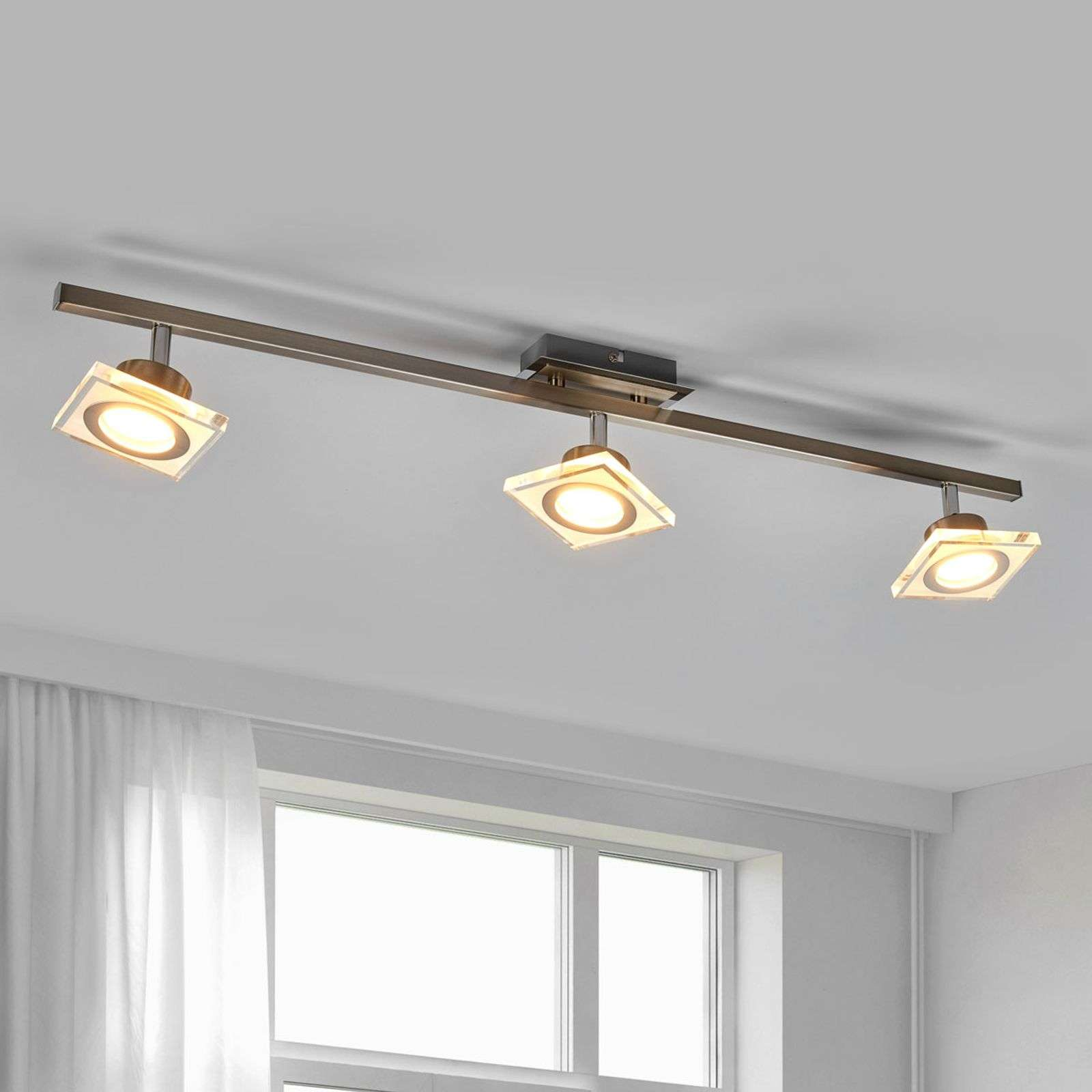 Plafonnier avec spots LED Kovi dimmable