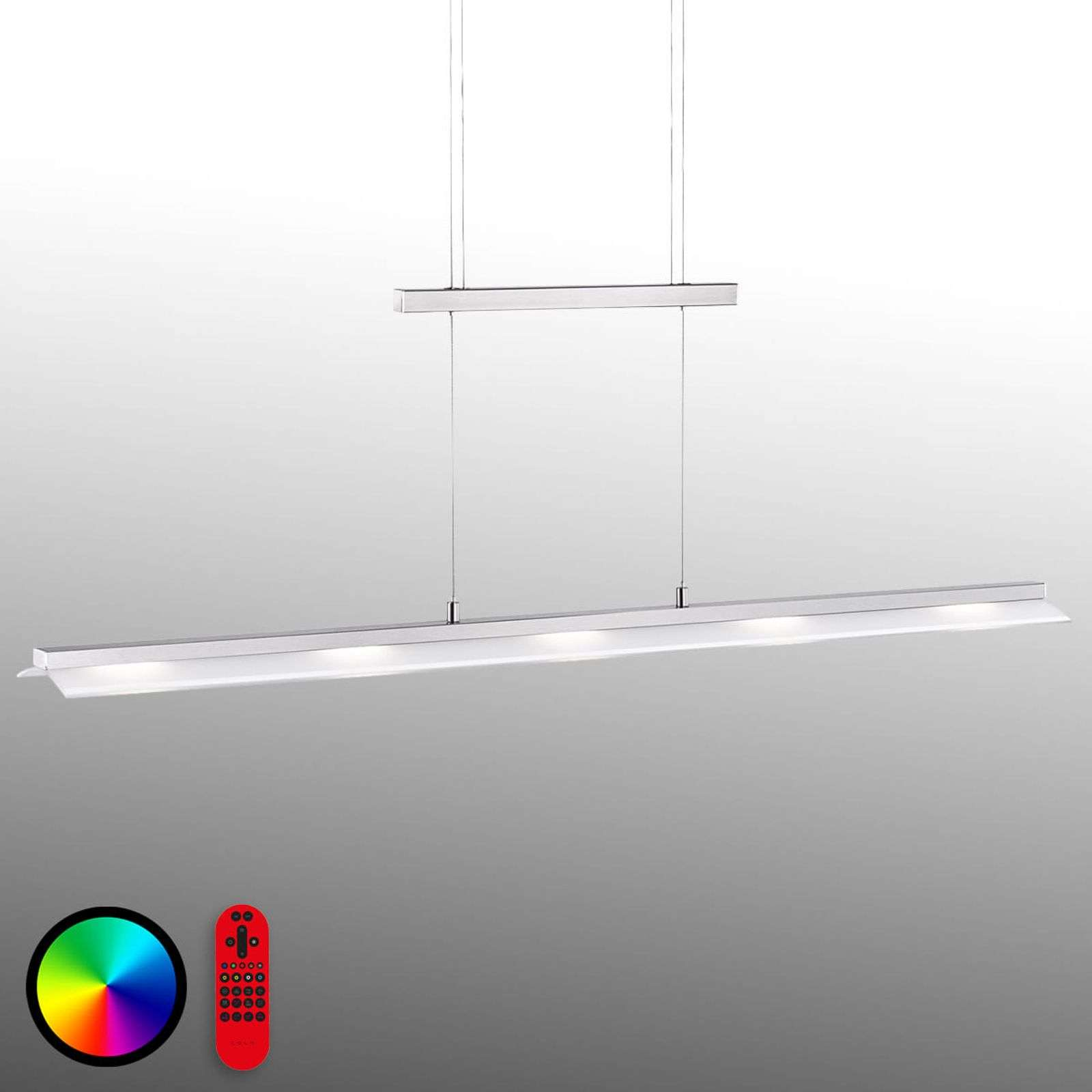 Plafonnier rampe LED commutable Lola-Nele