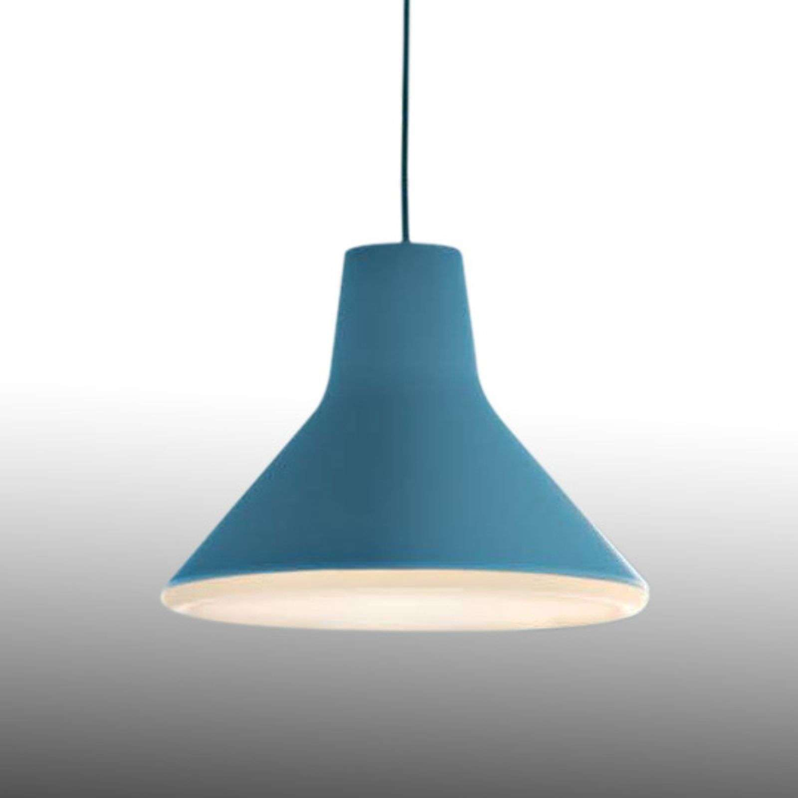 Suspension LED de designer Archetype, bleu clair