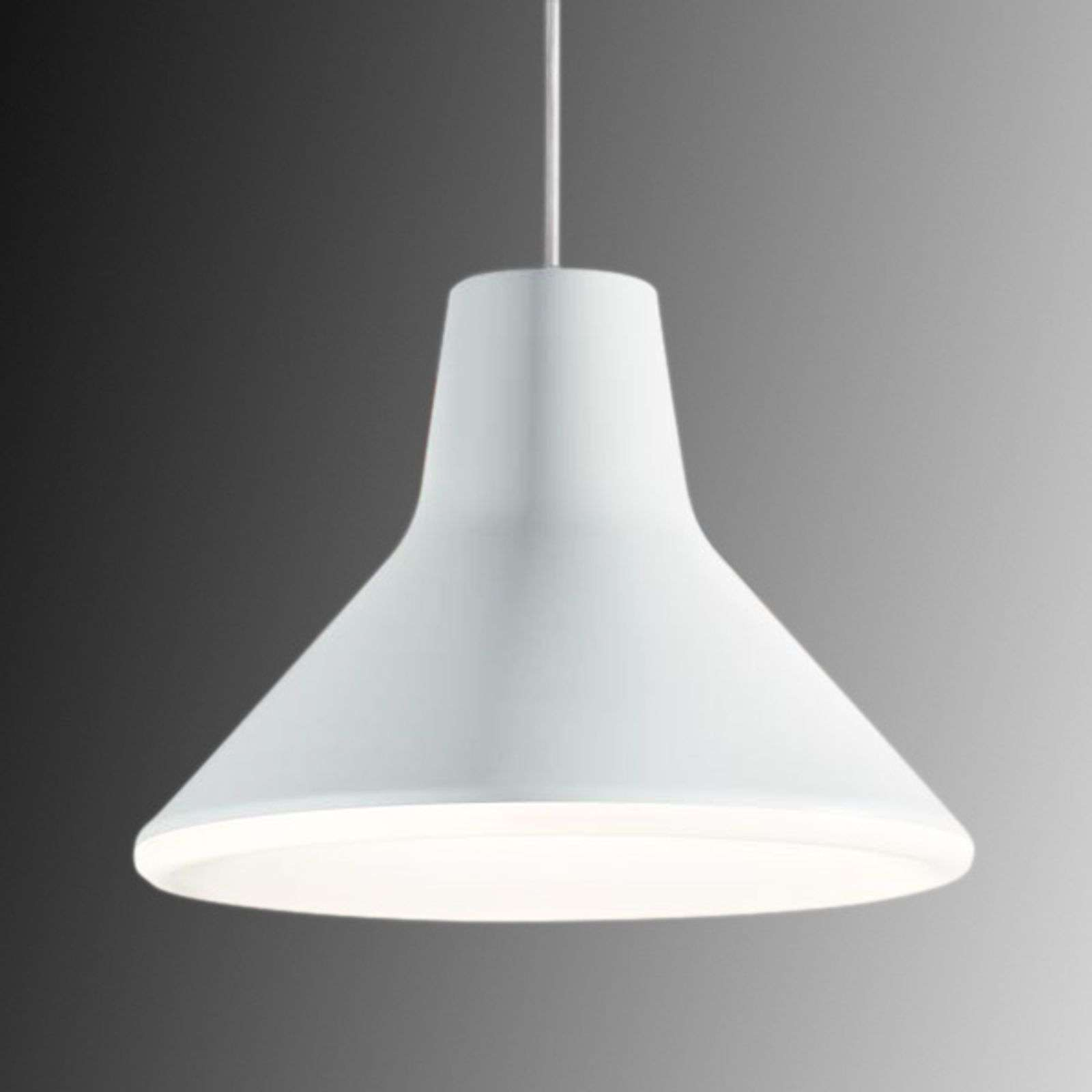 Suspension LED de designer Archetype, blanc