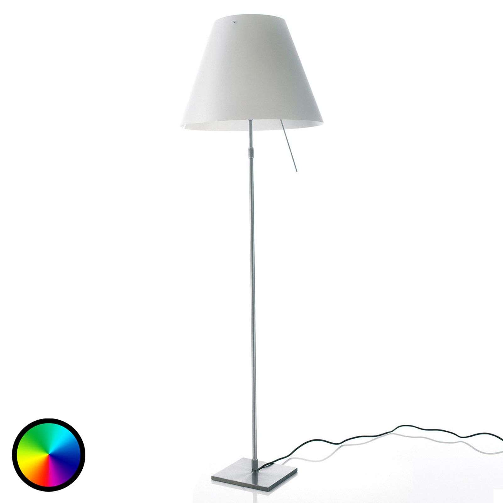 Lampadaire LED Philips Hue Costanza, réglable