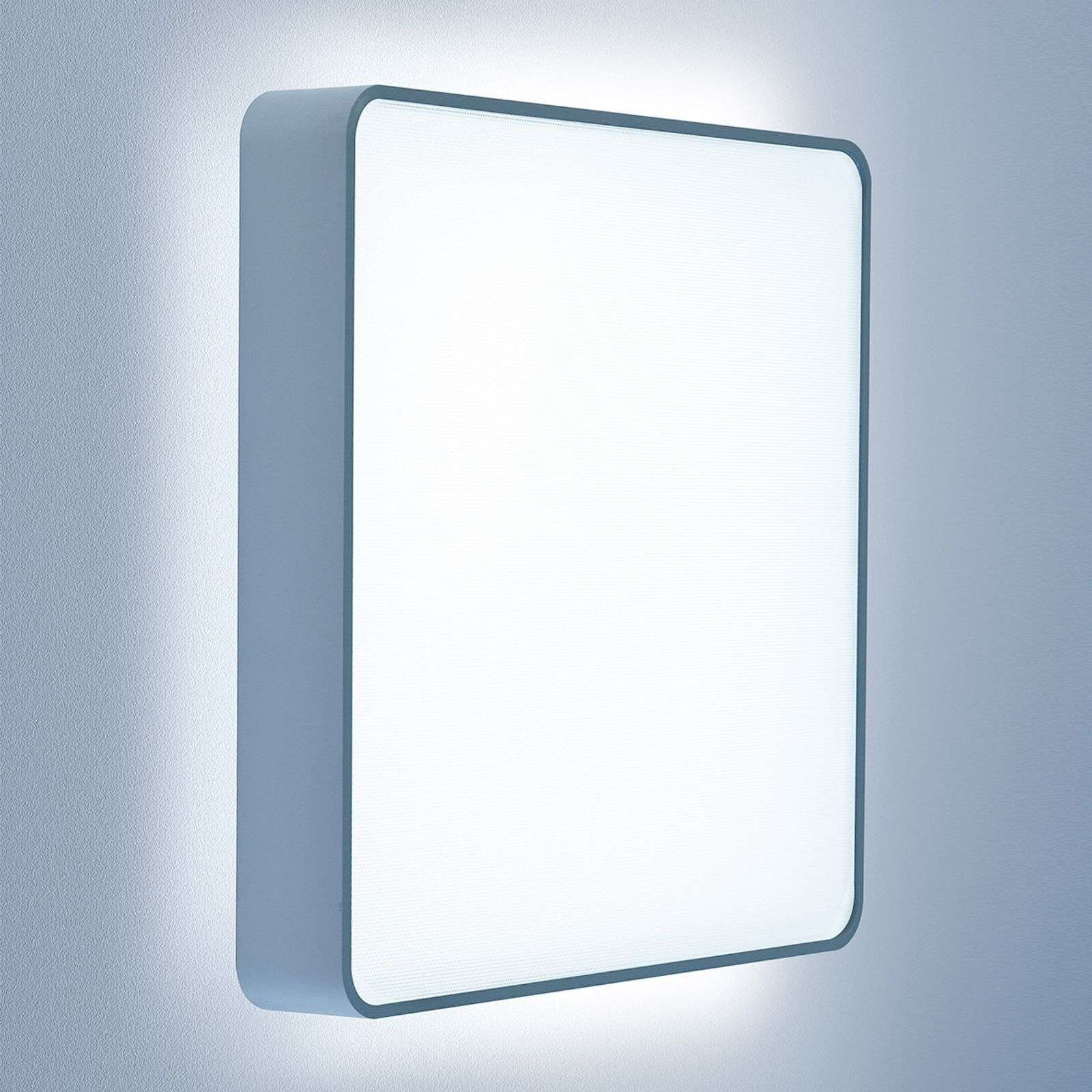 Applique LED Caleo X2 carrée 41,4 cm