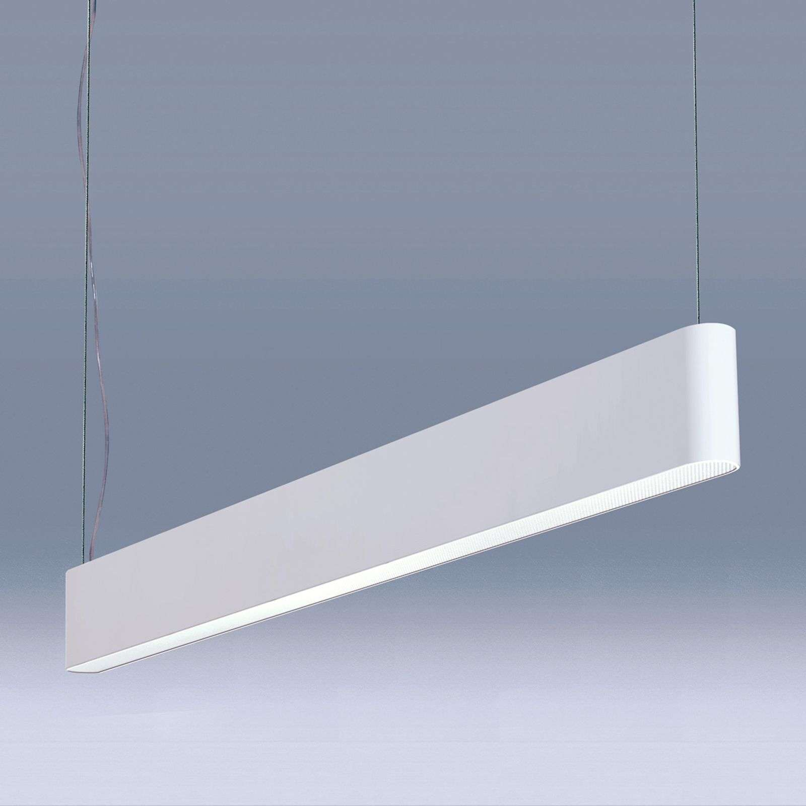 Suspension LED Caleo-P4 blanche - 118,2 cm 62 W
