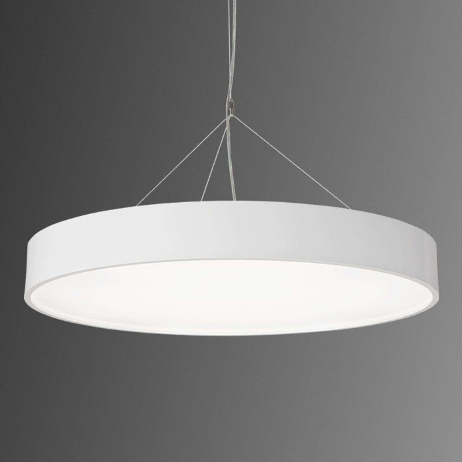 Suspension LED Modul P945 ronde blanche