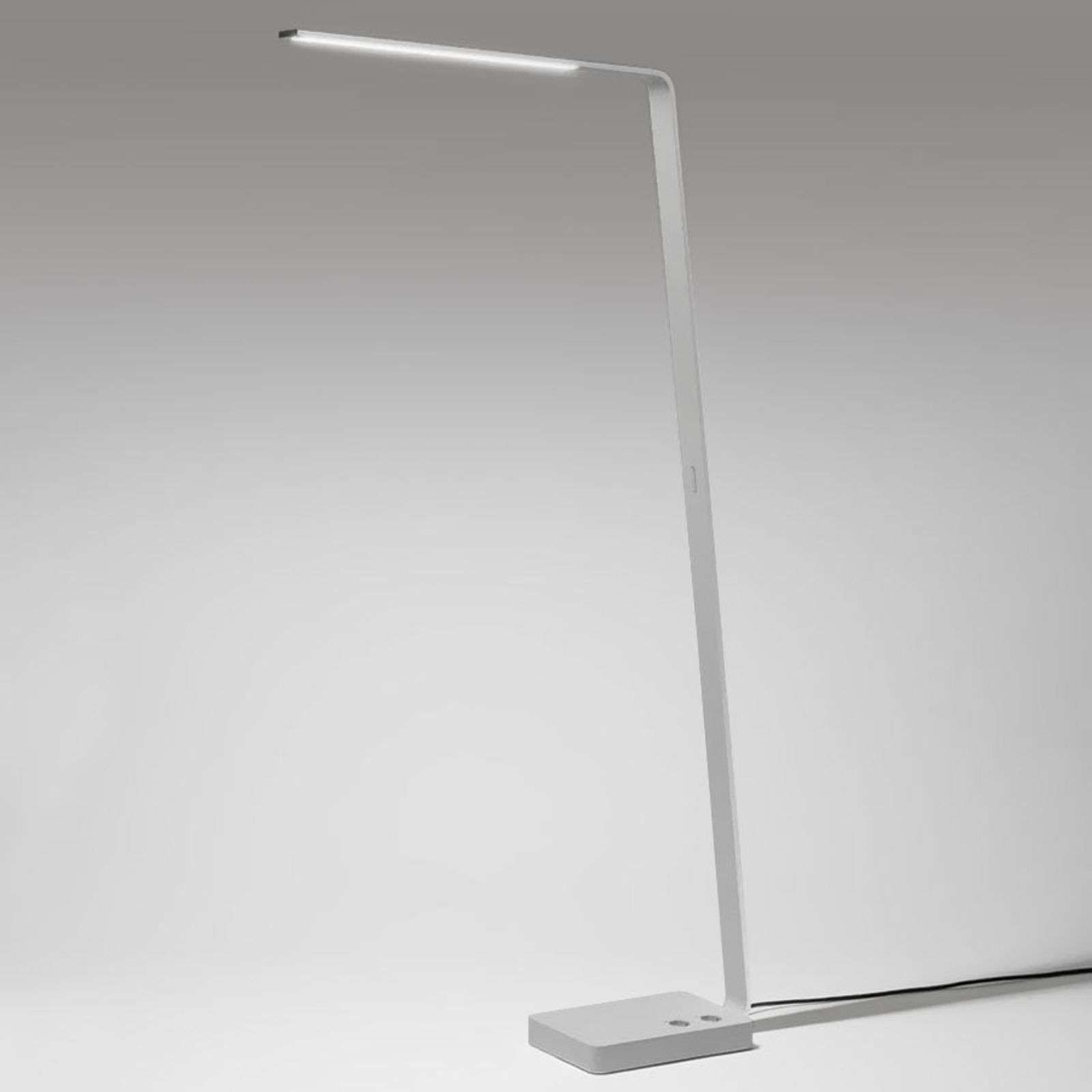 Lampadaire design Lama Office 39 W LED gris