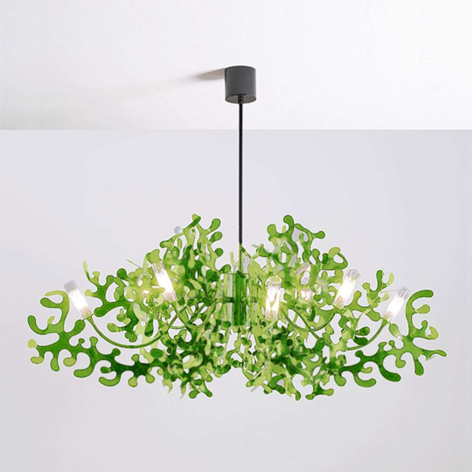 Suspension CORAL verte