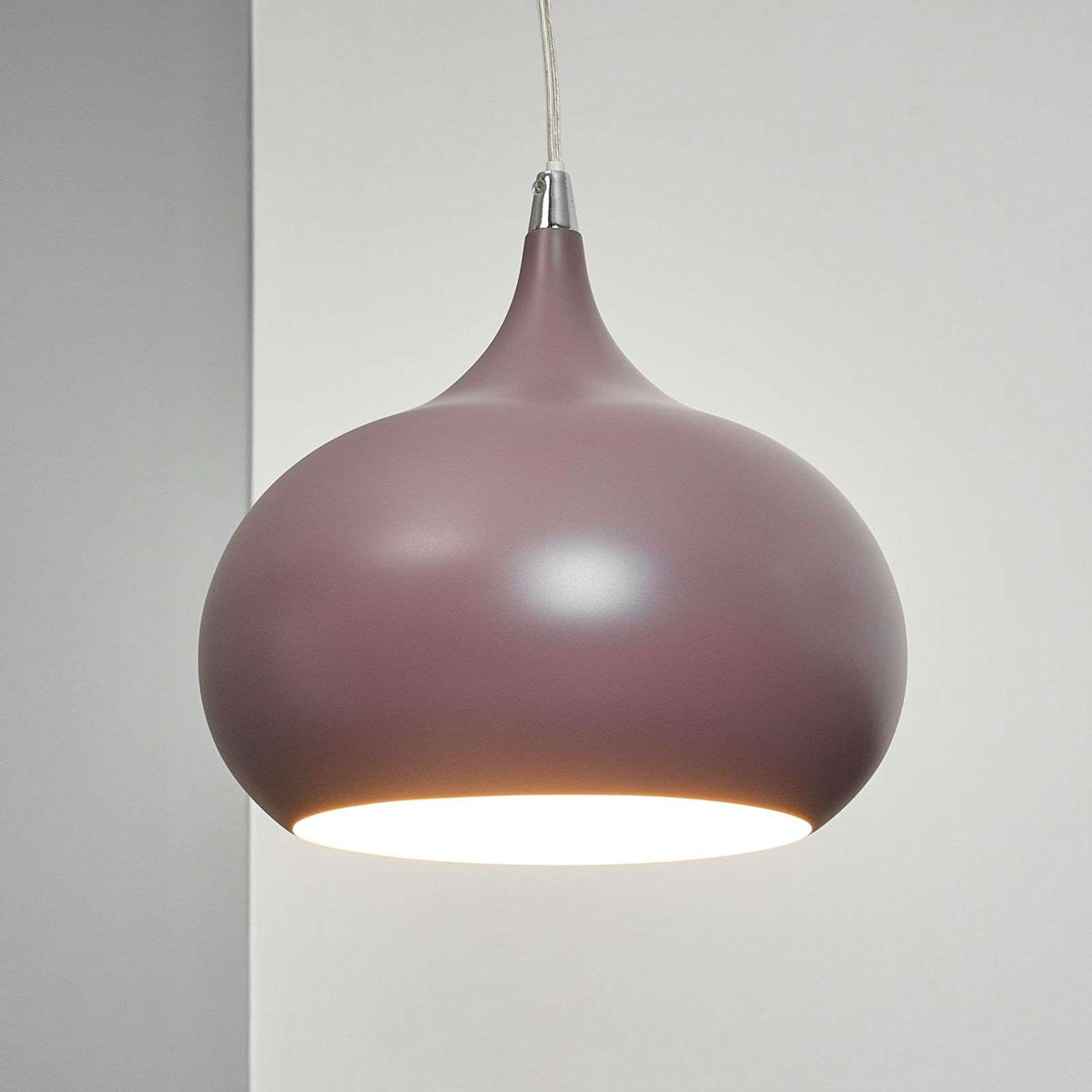Suspension Riva aubergine